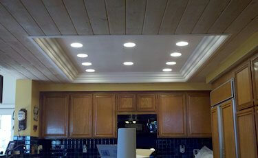 Converting Single Kitchen Light To Recessed Light