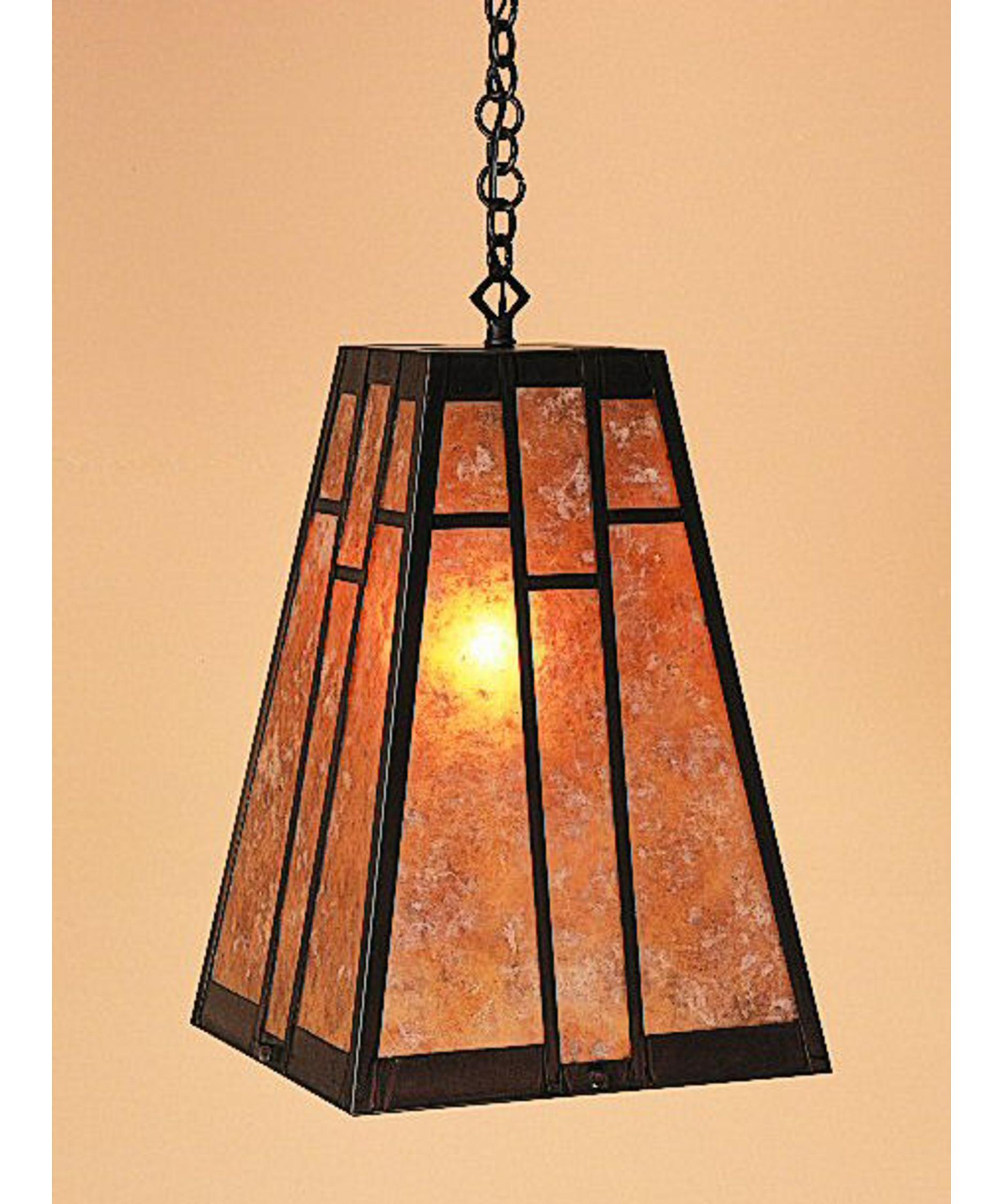 shown in bronze finish with almond mica glass arroyo craftsman lighting