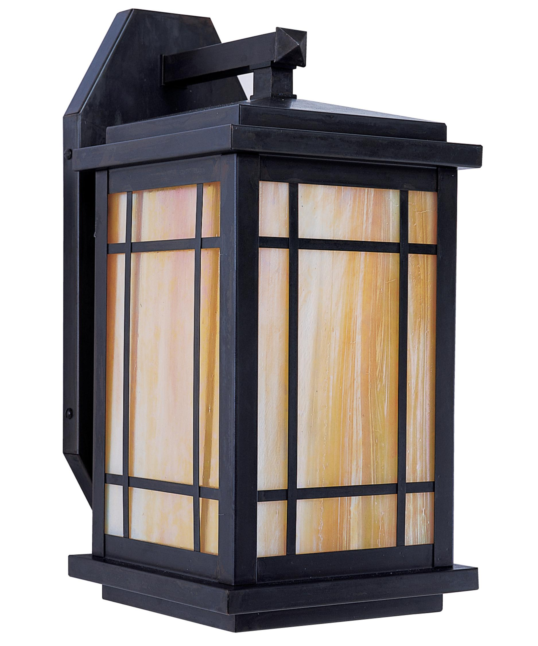 shown in bronze finish and gold white iridescent glass arroyo craftsman lighting
