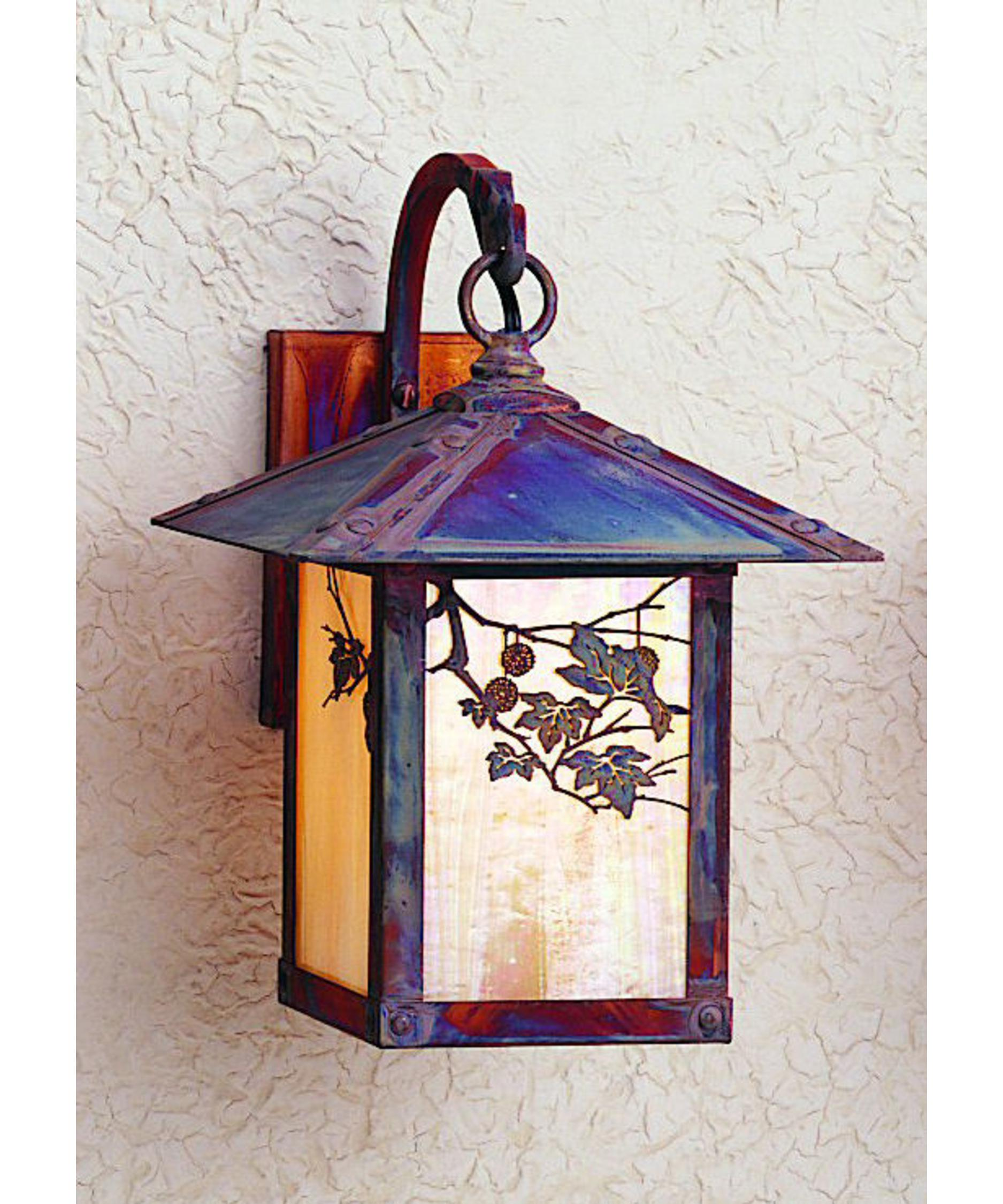 Arroyo Craftsman Eb 9 Evergreen 1 Light Outdoor Wall Light
