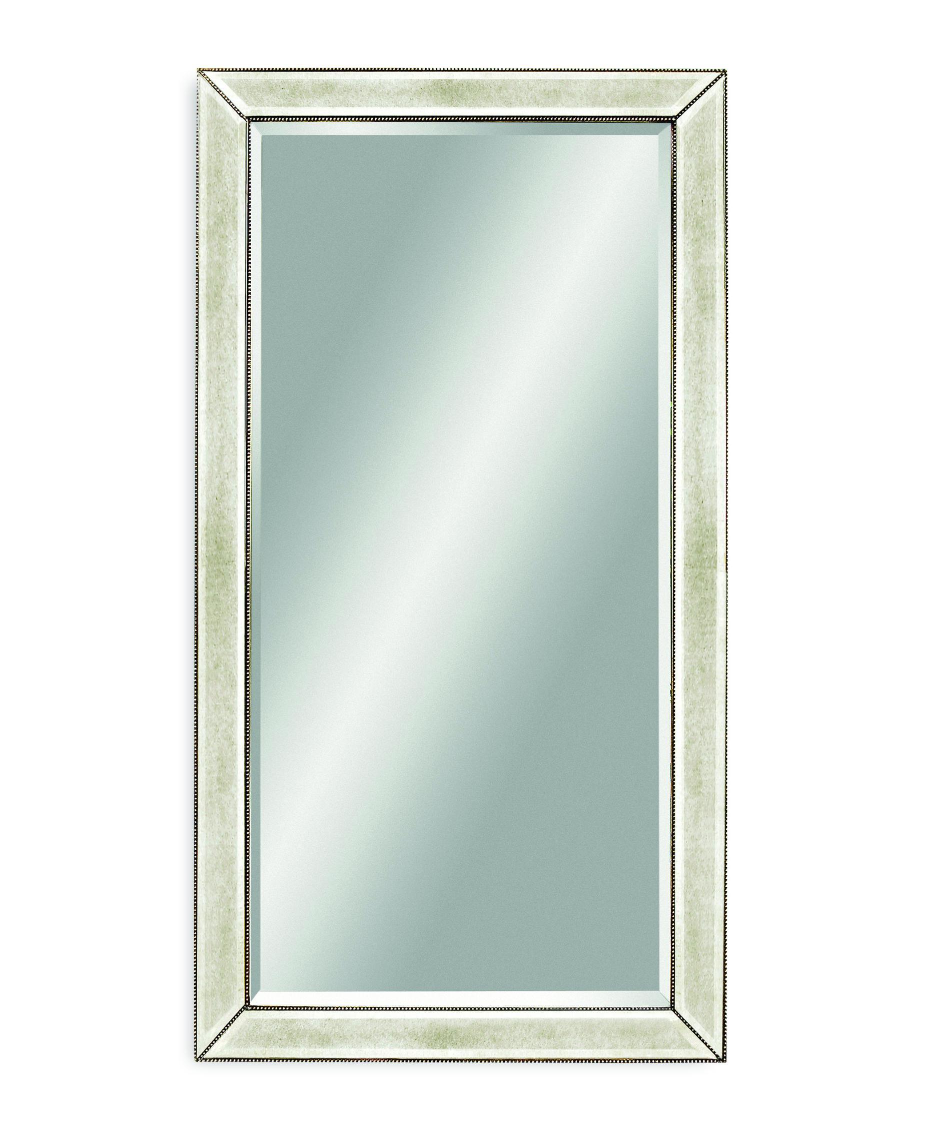 Bassett Mirror Company M2546b Beaded Mirror Capitol