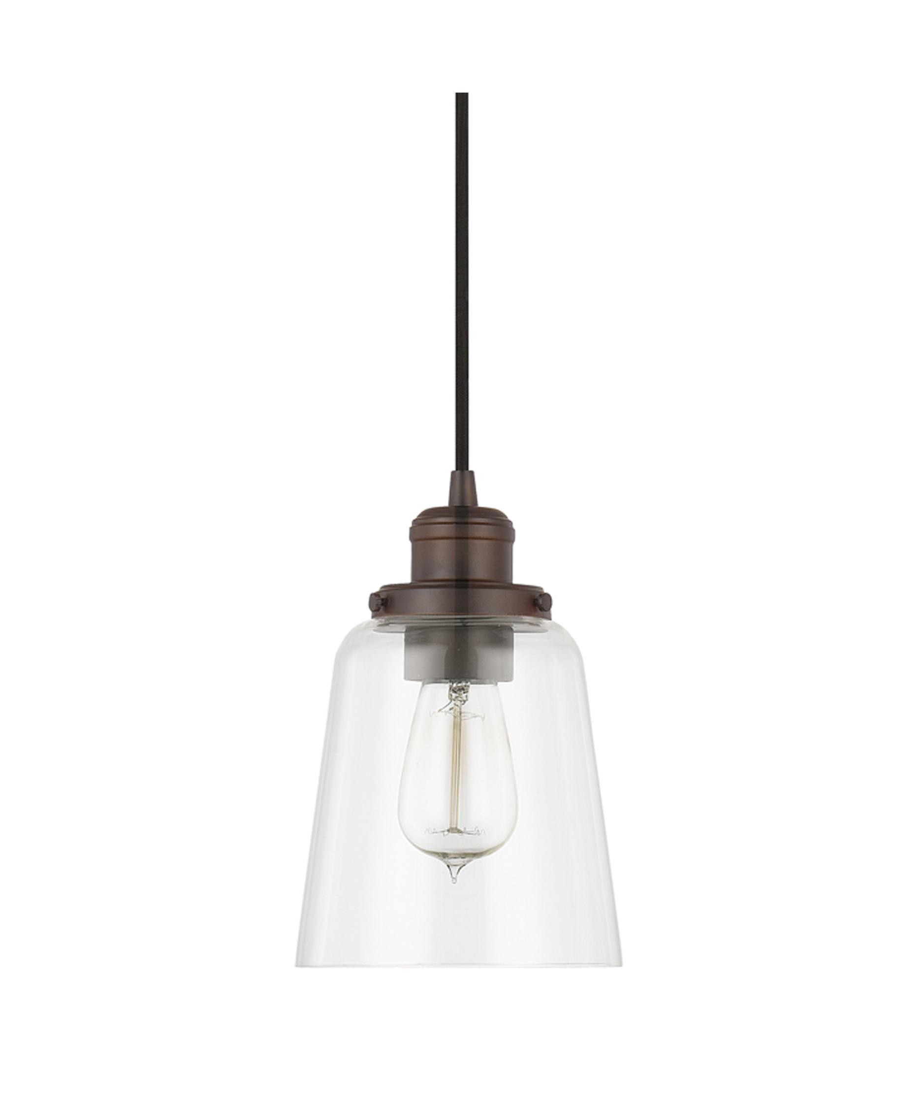 Capital Lighting 3718 6 Inch Wide 1 Light Mini Pendant | Capitol Lighting  1 800lighting.com
