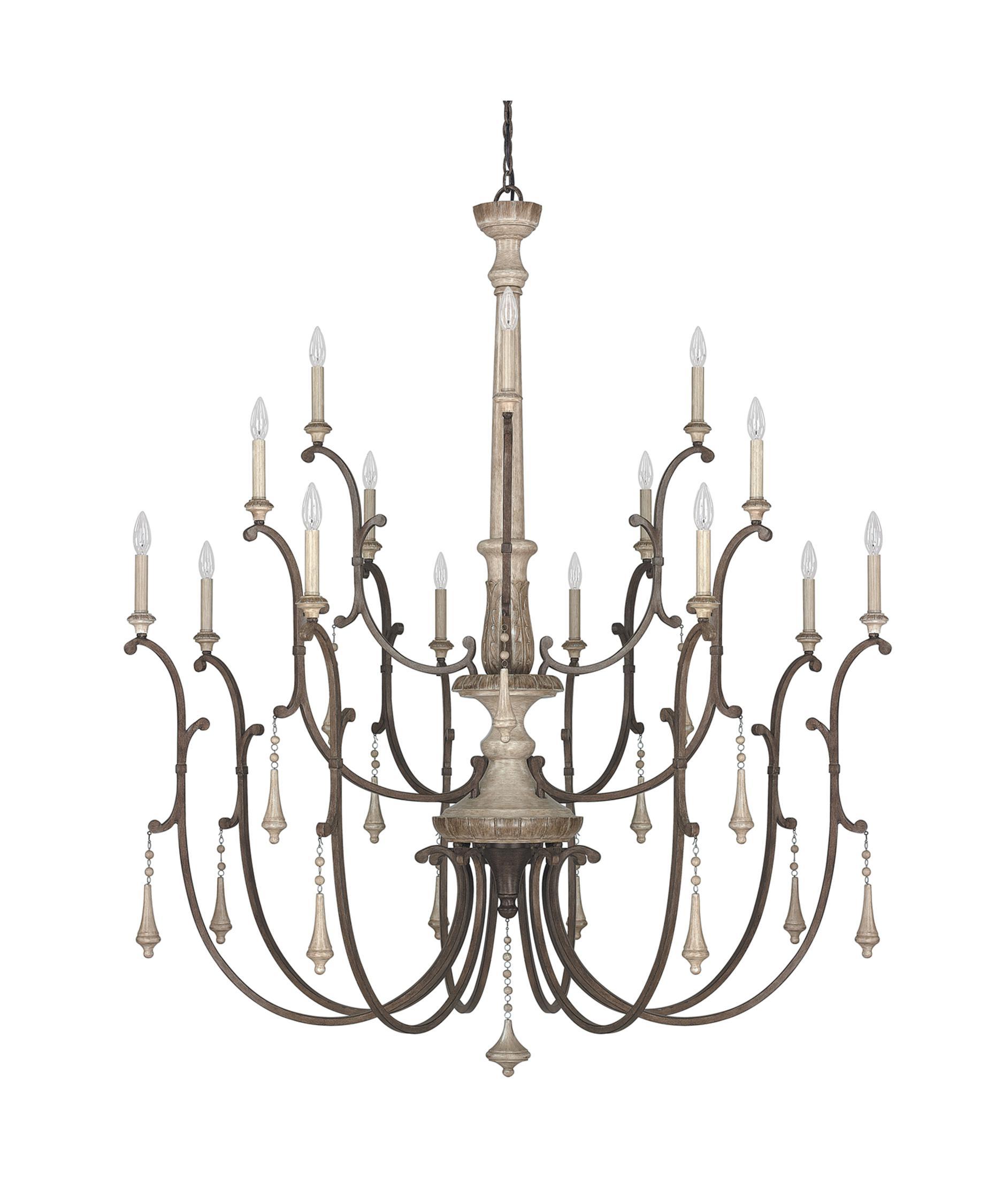 capital lighting chateau 54 inch wide 16 light chandelier capitol lighting - Capital Lighting