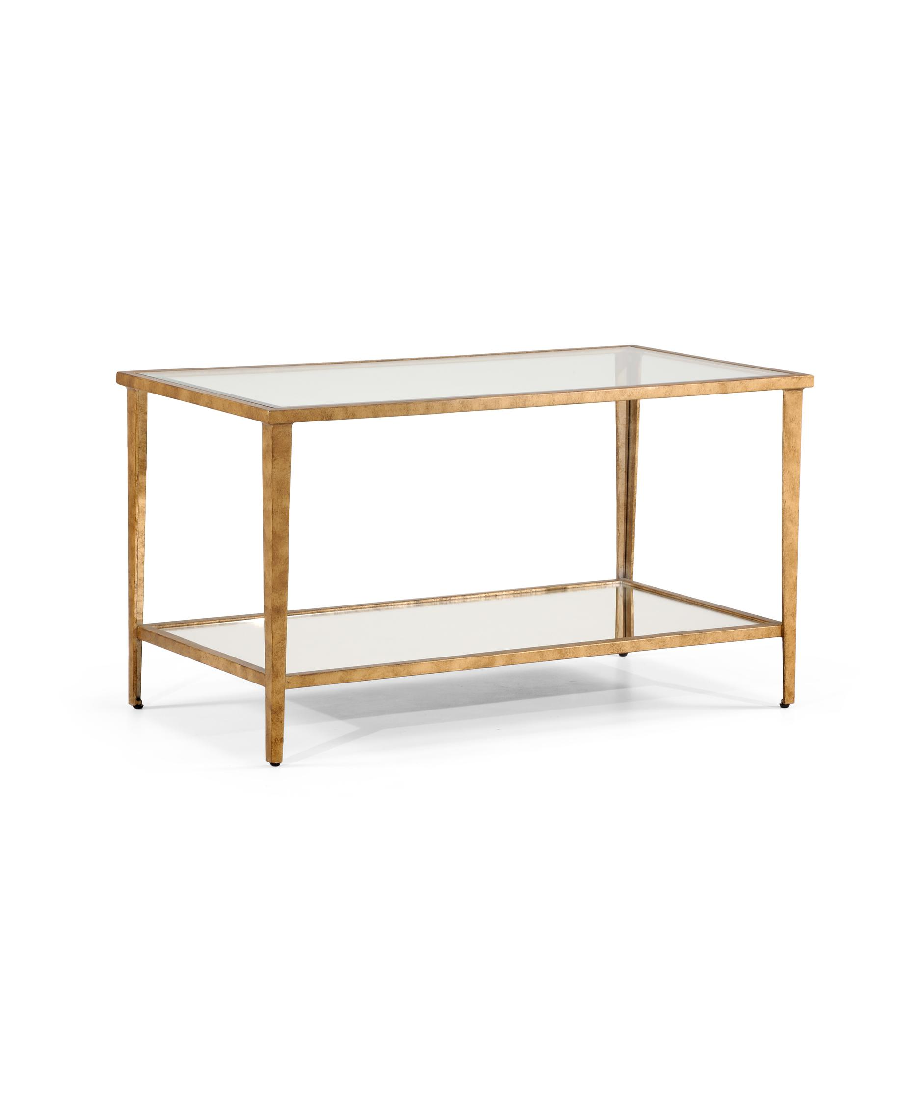 chelsea house 381354 carson gold coffee table | capitol lighting 1