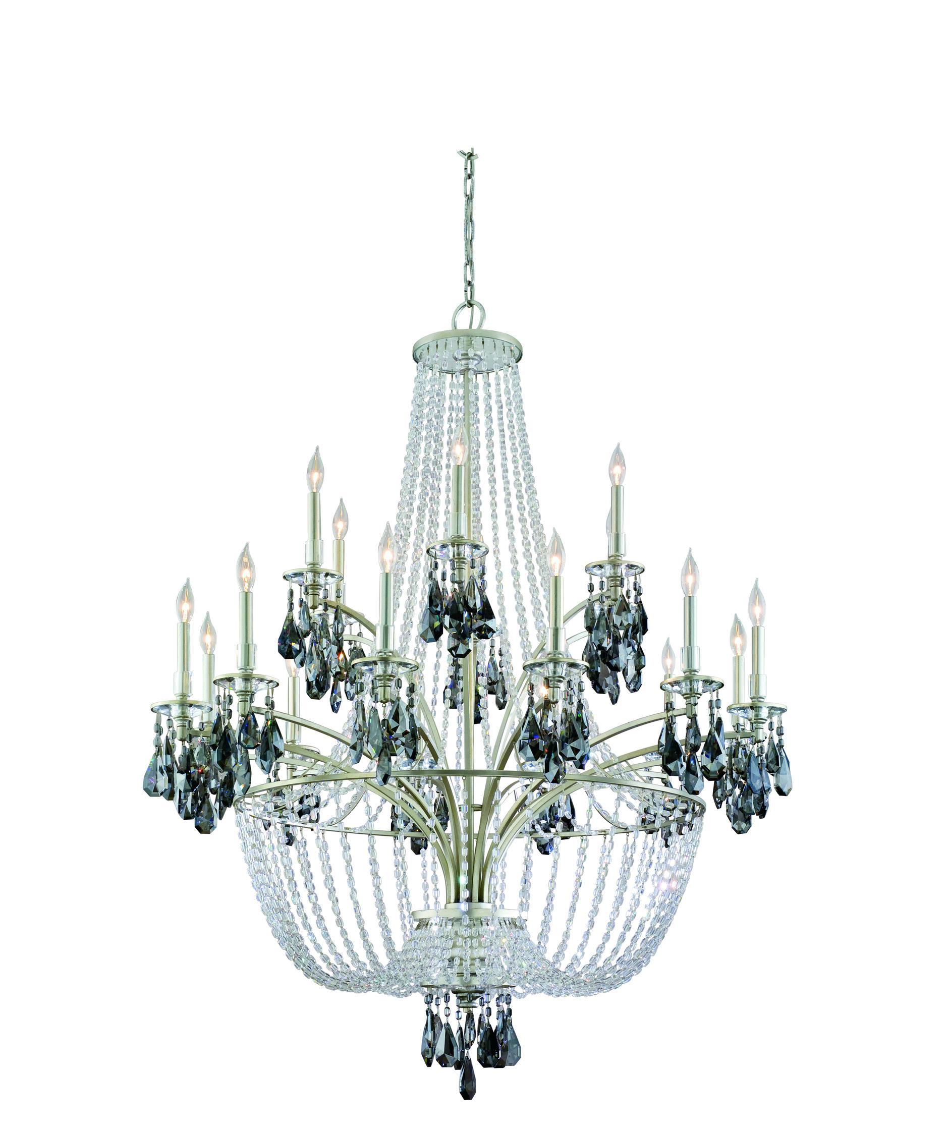 Corbett Lighting La Scala 46 Inch Wide 18 Light Chandelier – La Scala Chandelier