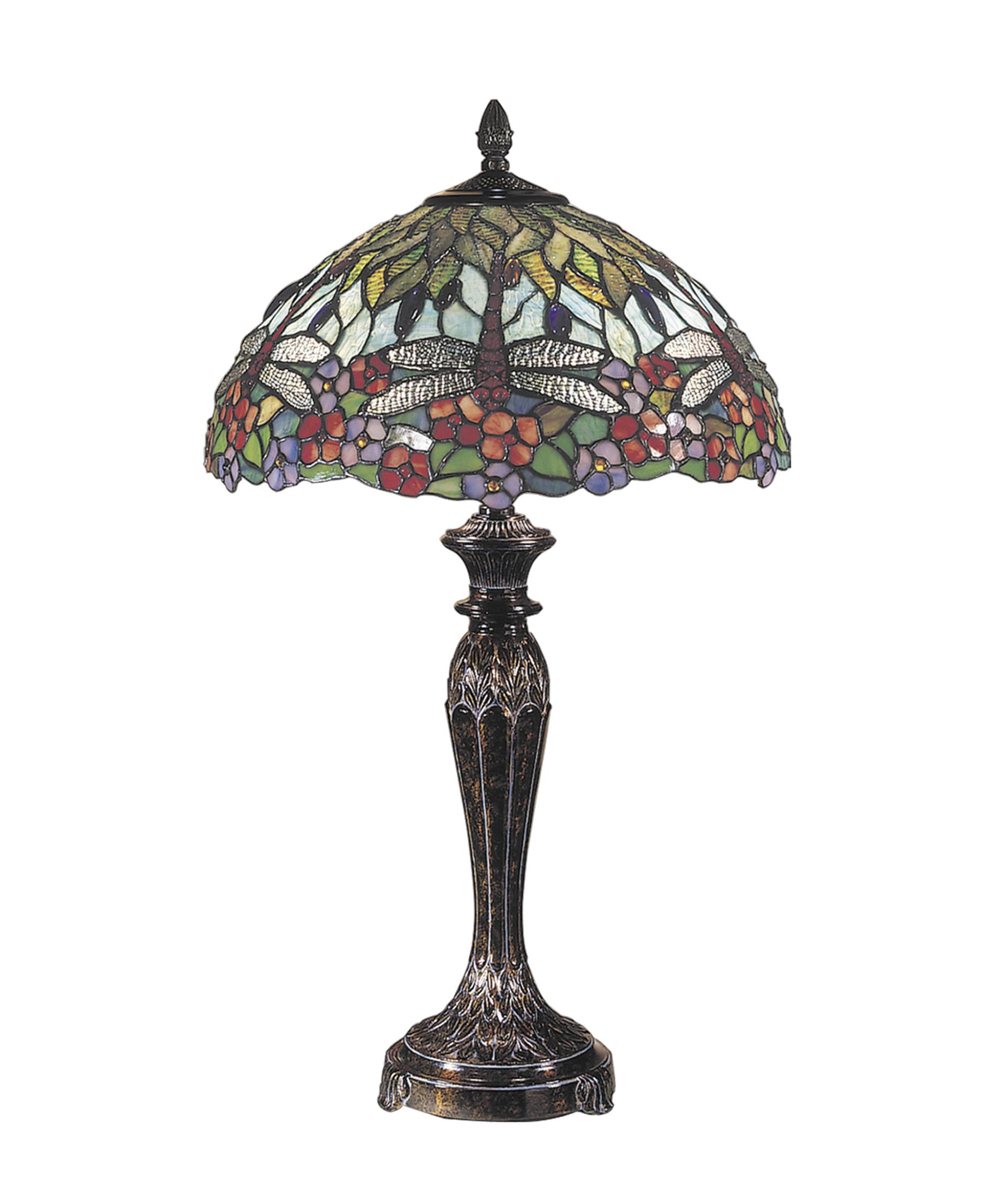 dale tiffany tt100588 dragonfly 29 inch table lamp capitol lighting. Black Bedroom Furniture Sets. Home Design Ideas
