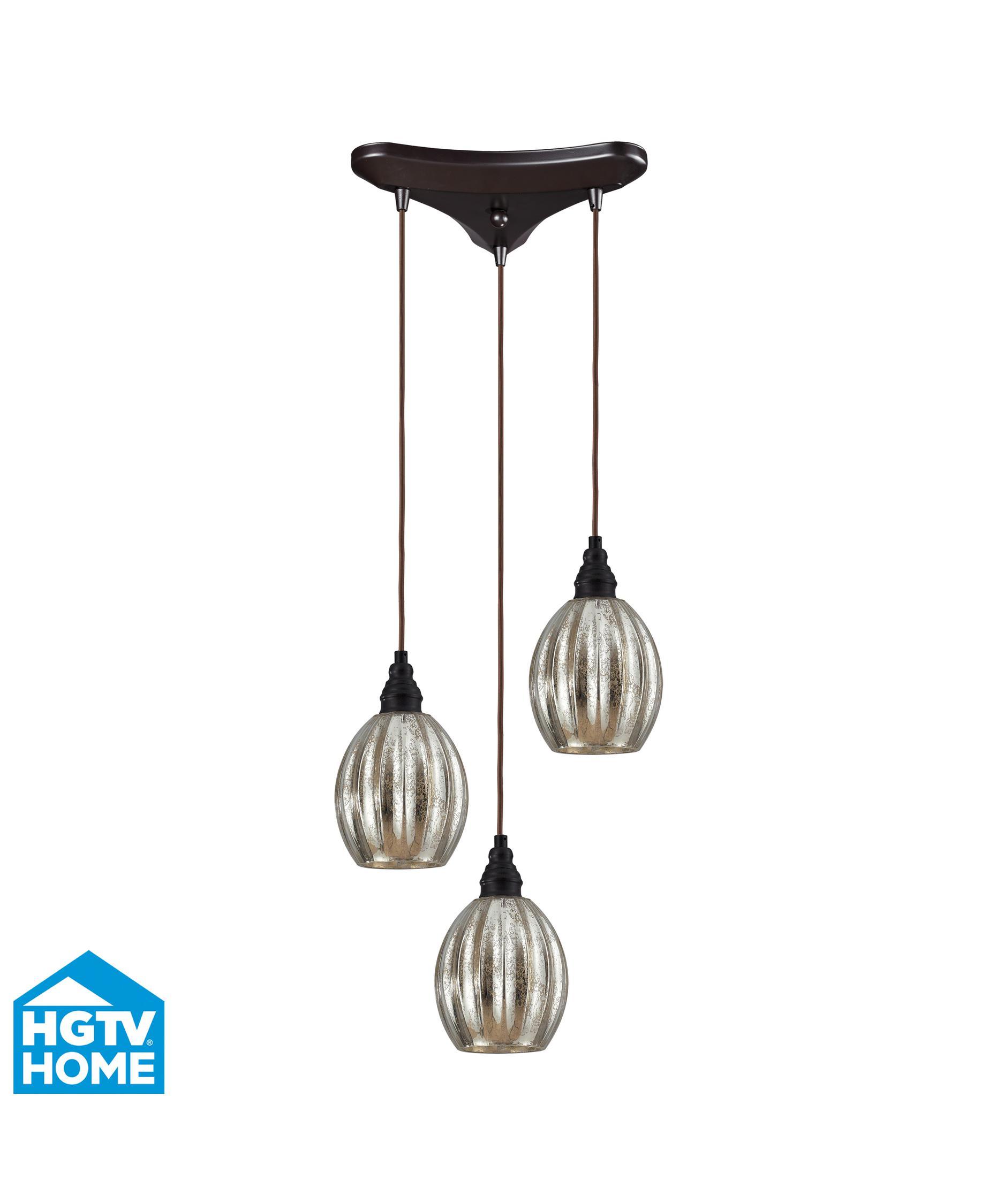 multi pendant lighting. shown in oiled bronze finish and mercury glass multi pendant lighting r