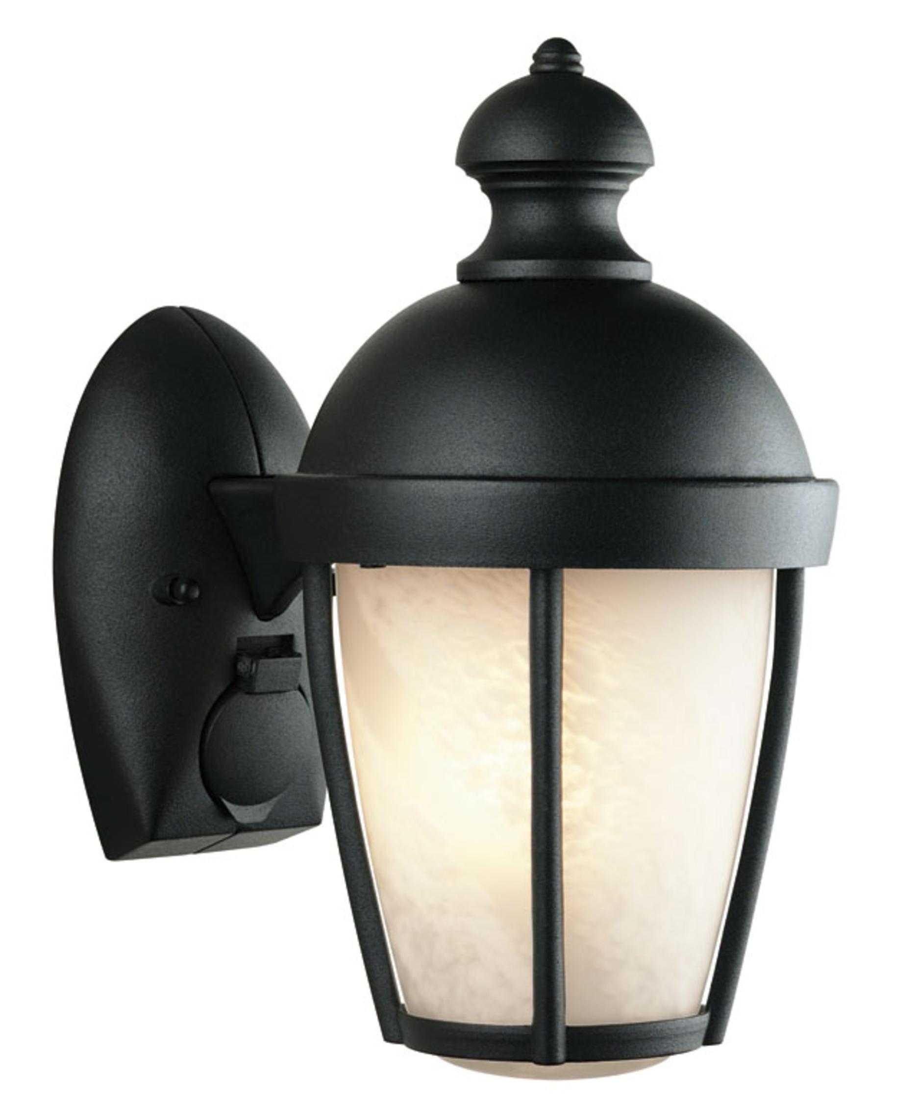 Forecast F3128 Hide A Plug 1 Light Outdoor Wall Light