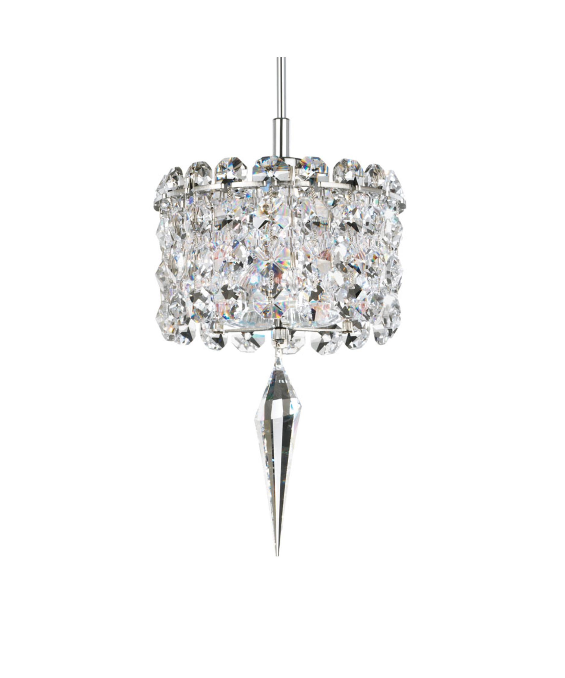 shown with and clear swarovski spectra geometrix crystal - Schonbek Lighting