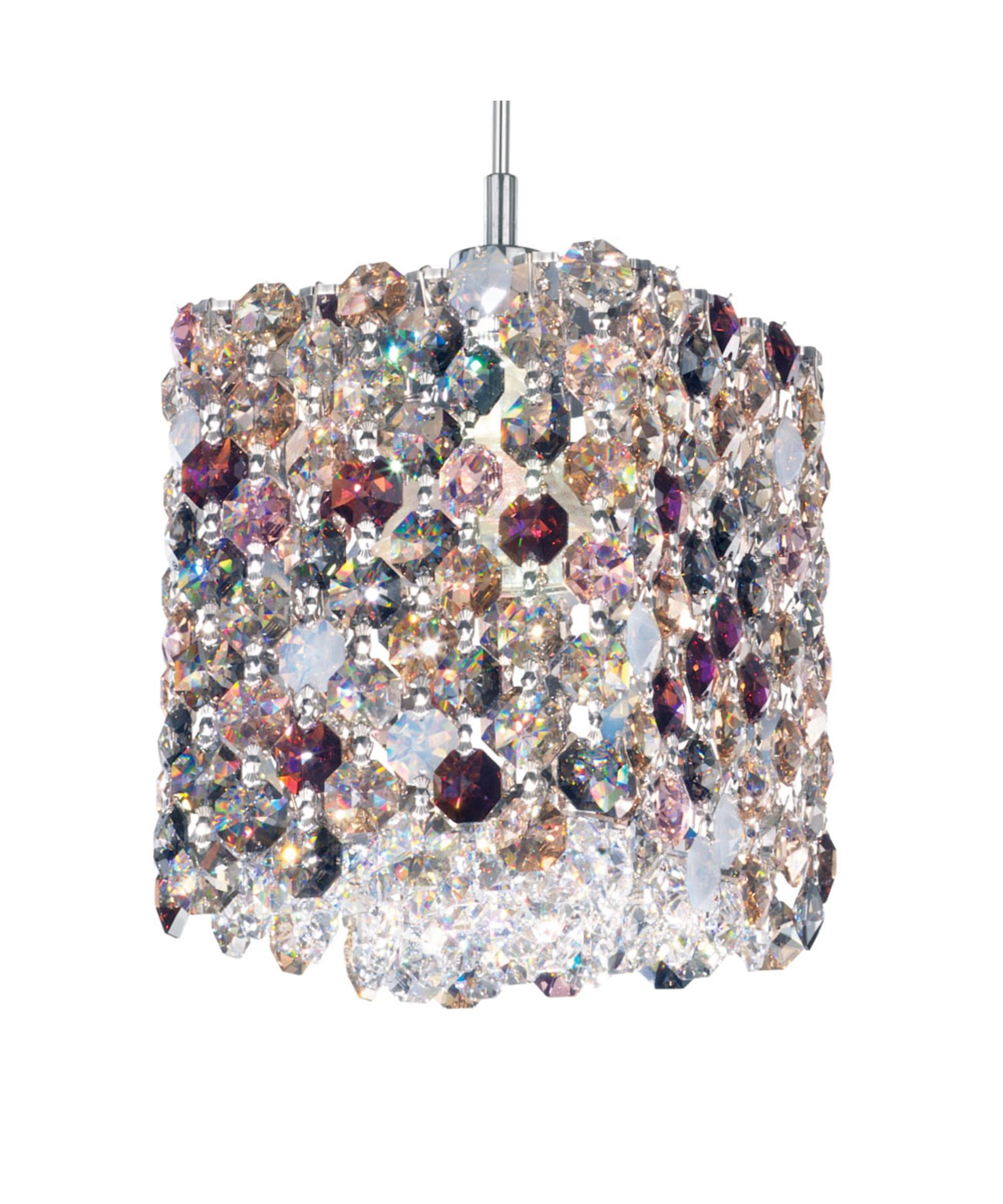 Shown with and Chinchilla Swarovski Elements crystal