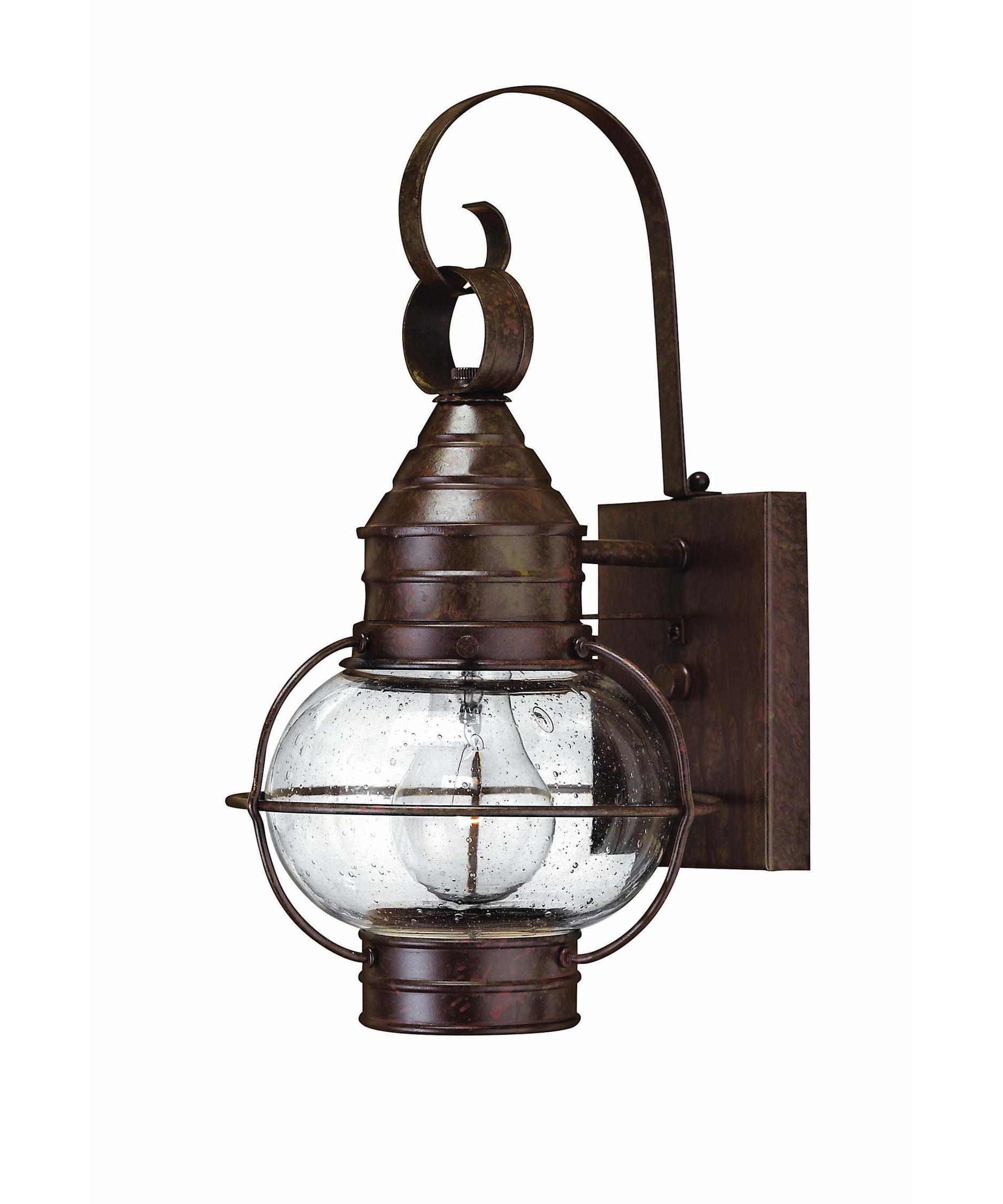 hinkley lighting 2206 cape cod 1 light outdoor wall light capitol lighting 1