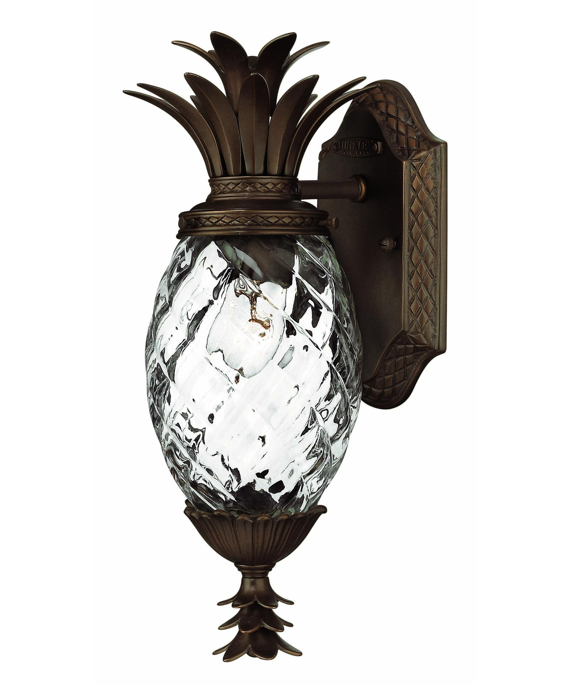Hinkley Lighting 2226 Plantation Exterior 1 Light Outdoor Wall Light Capito Ideas
