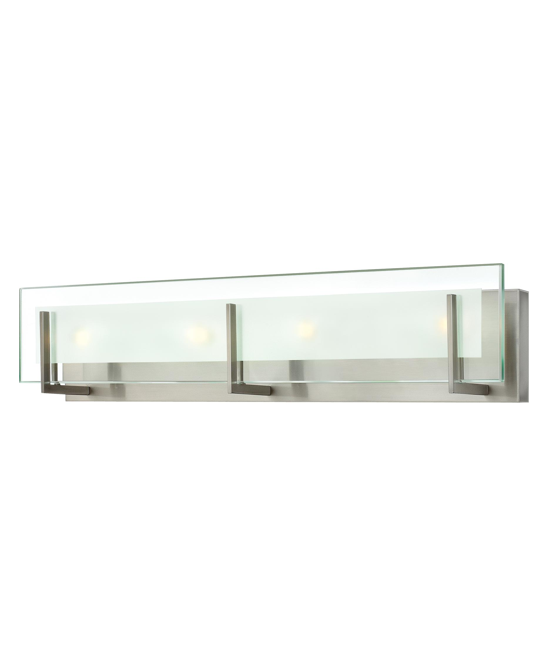 Hinkley lighting latitude 26 inch bath vanity light for Hinkley bathroom vanity lighting