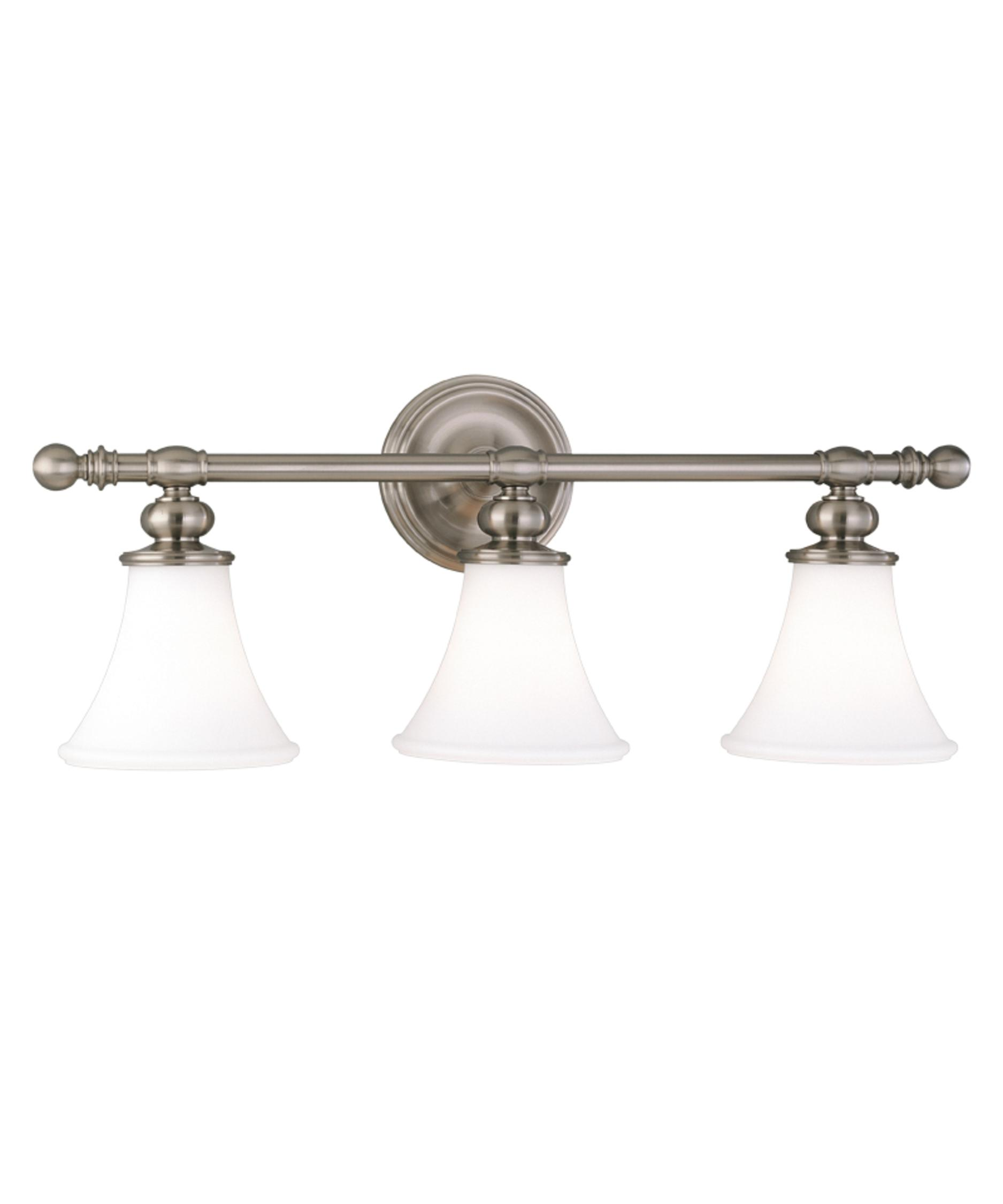 Bathroom Lighting Fixtures Polished Nickel hudson valley 4503 weston 25 inch wide bath vanity light | capitol