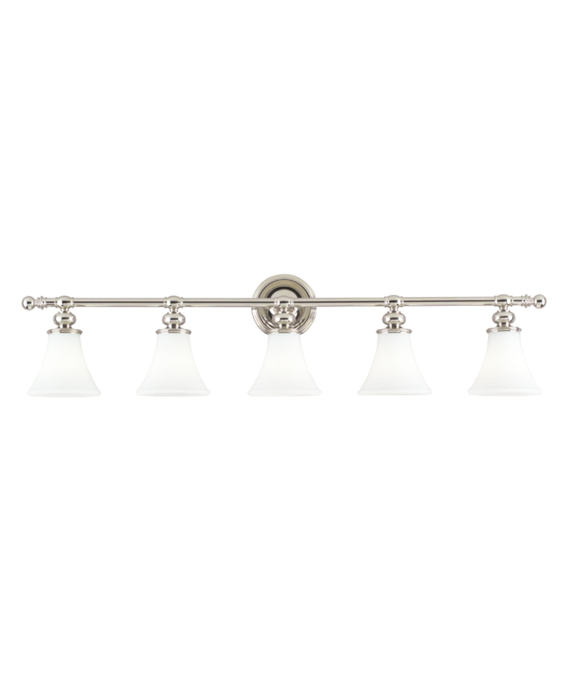 Hudson Valley 4505 Weston 43 Inch Wide Bath Vanity Light | Capitol Lighting  1 800lighting.com