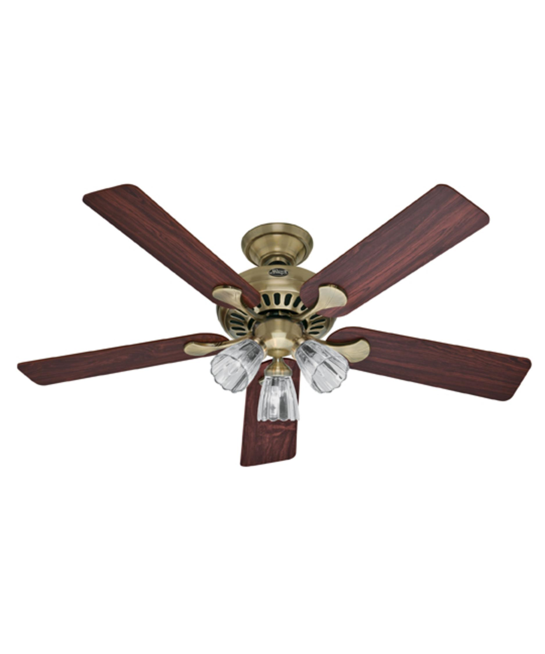 Murray Feiss Ceiling Fan Light Kit: Hunter Fan 20540 Summer Breeze Plus 52 Inch Ceiling Fan