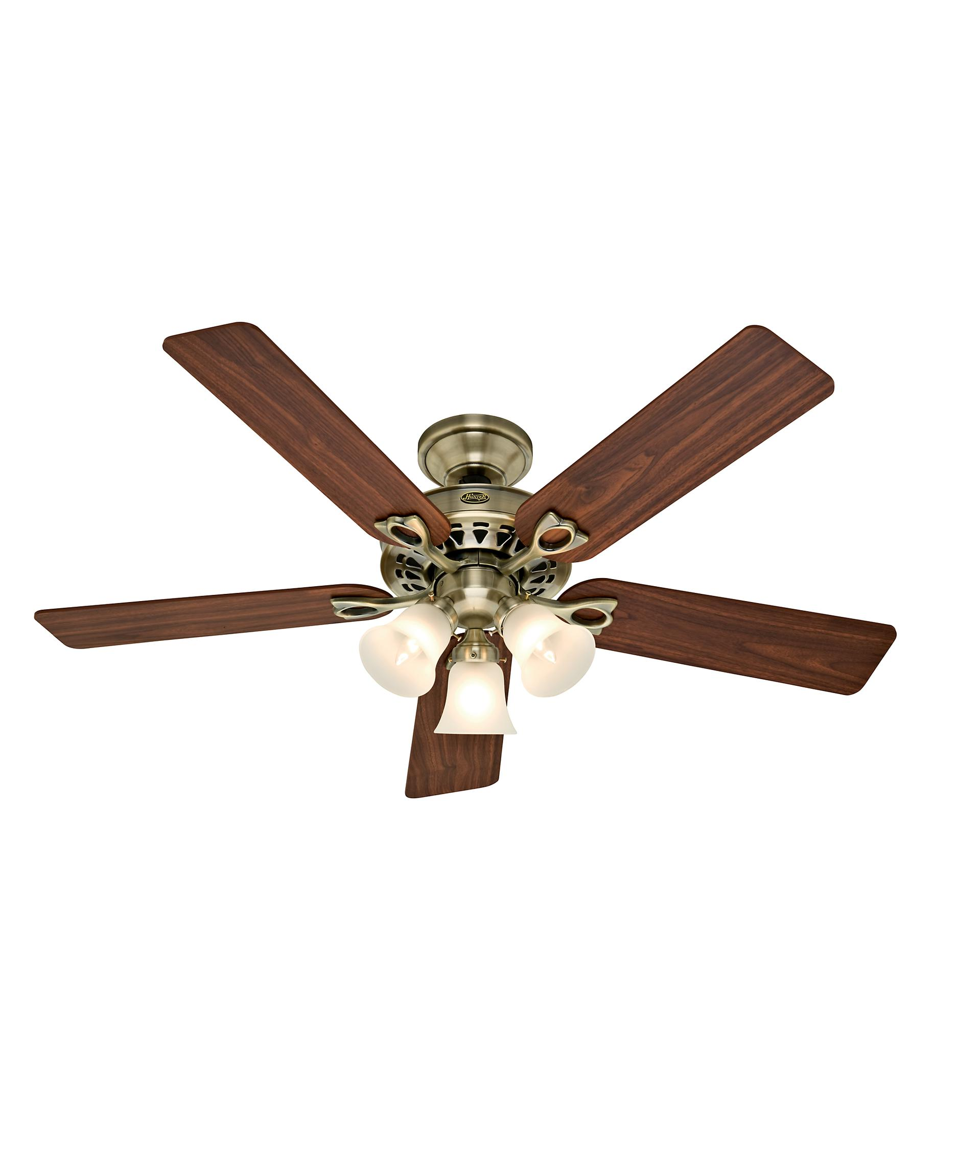 Murray Feiss Ceiling Fan Light Kit: Hunter Fan 21433 Sontera 52 Inch Ceiling Fan With Light