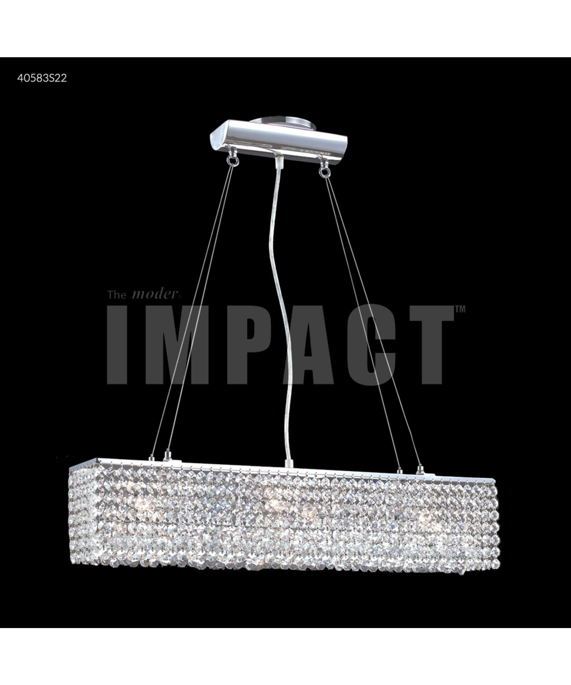James R Moder 40583 Impact Contemporary 5 Inch Island Light
