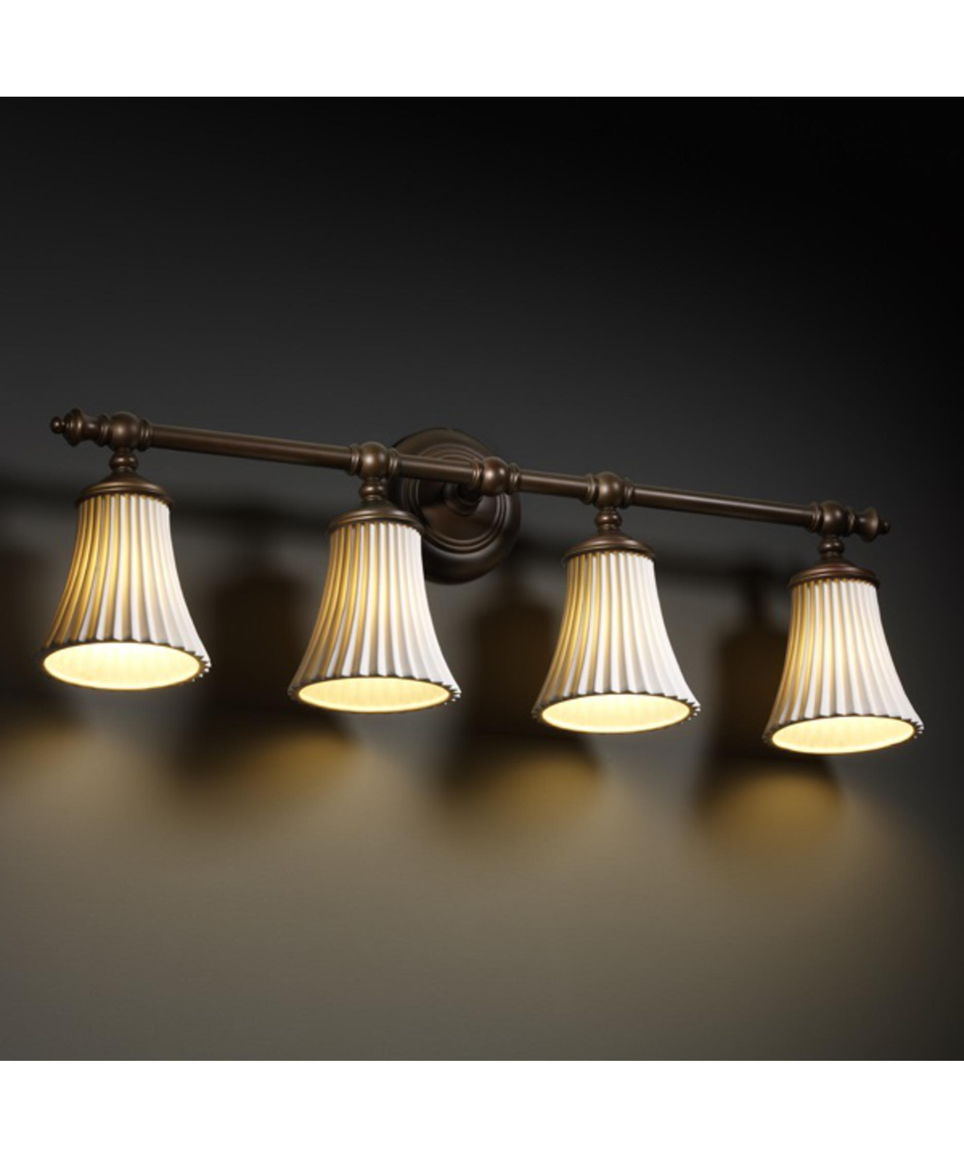 Justice design group limoges tradition 31 inch bath vanity light capitol lighting 1 - Justice design group bathroom lighting ...