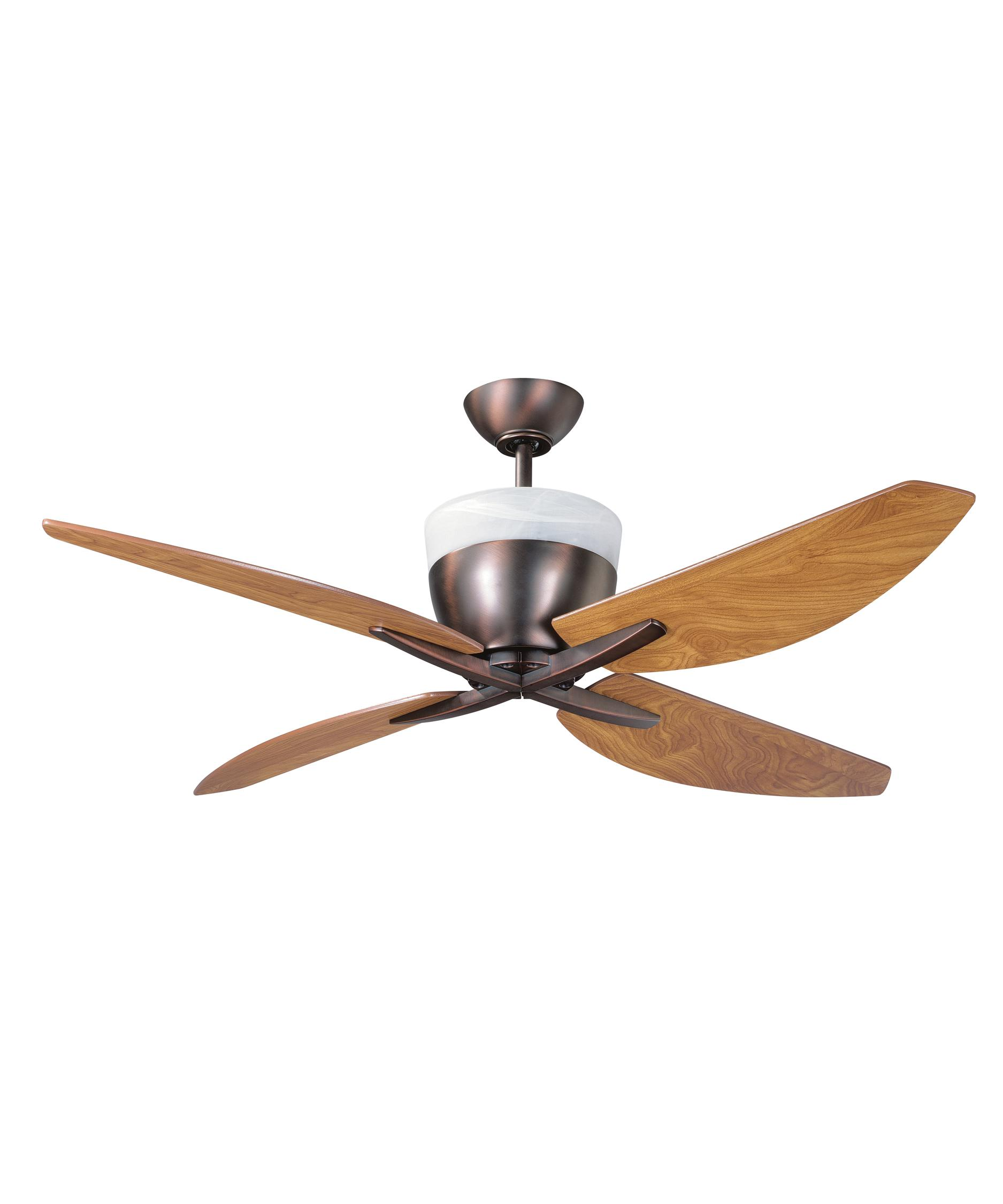Murray Feiss Ceiling Fan Light Kit: Kendal Lighting AC12552 Savoy 52 Inch Ceiling Fan With
