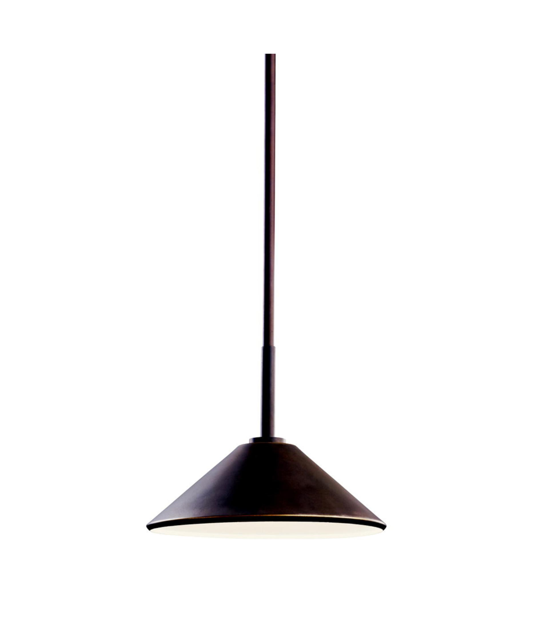 Outdoor hanging lamps - Shown In Bronze Finish