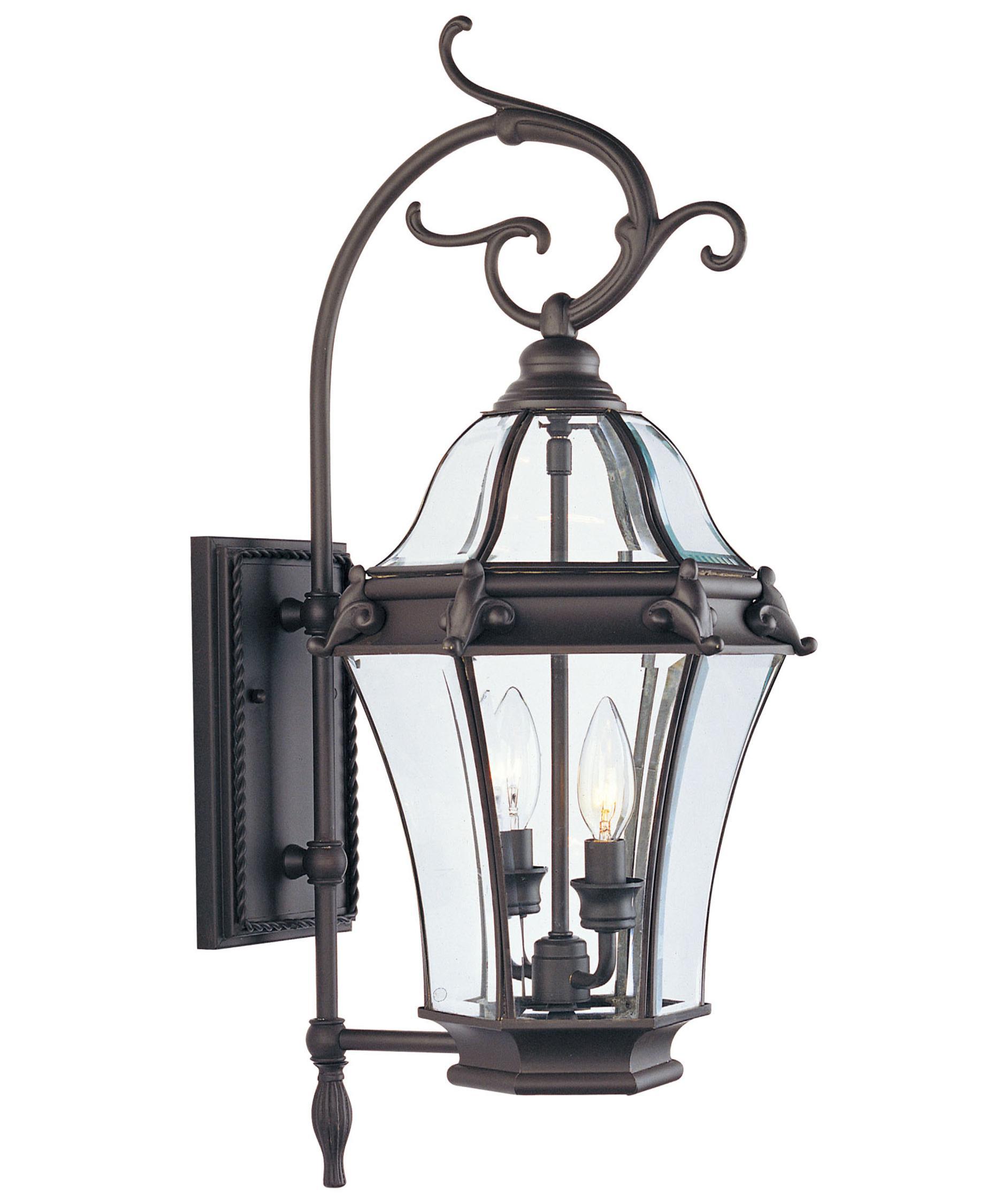 Livex Lighting 2621 Fleur De Lis 2 Light Outdoor Wall