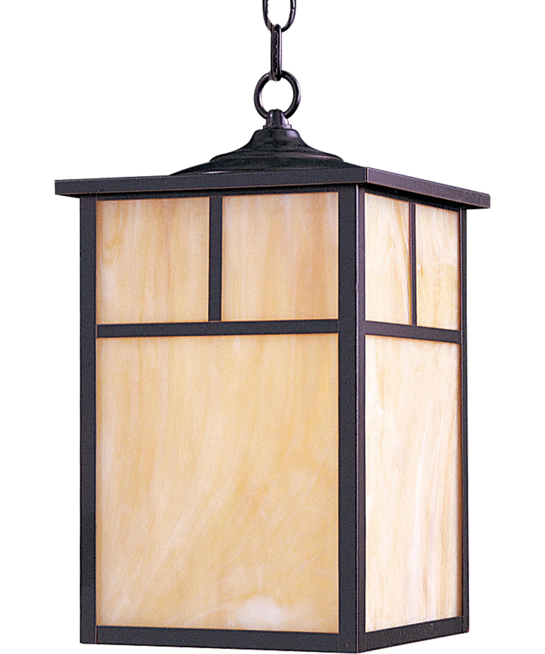 Maxim Lighting 4058 Craftsman 9 Inch Wide 1 Light Outdoor Hanging Lantern Capitol Lighting 1 800lighting Com