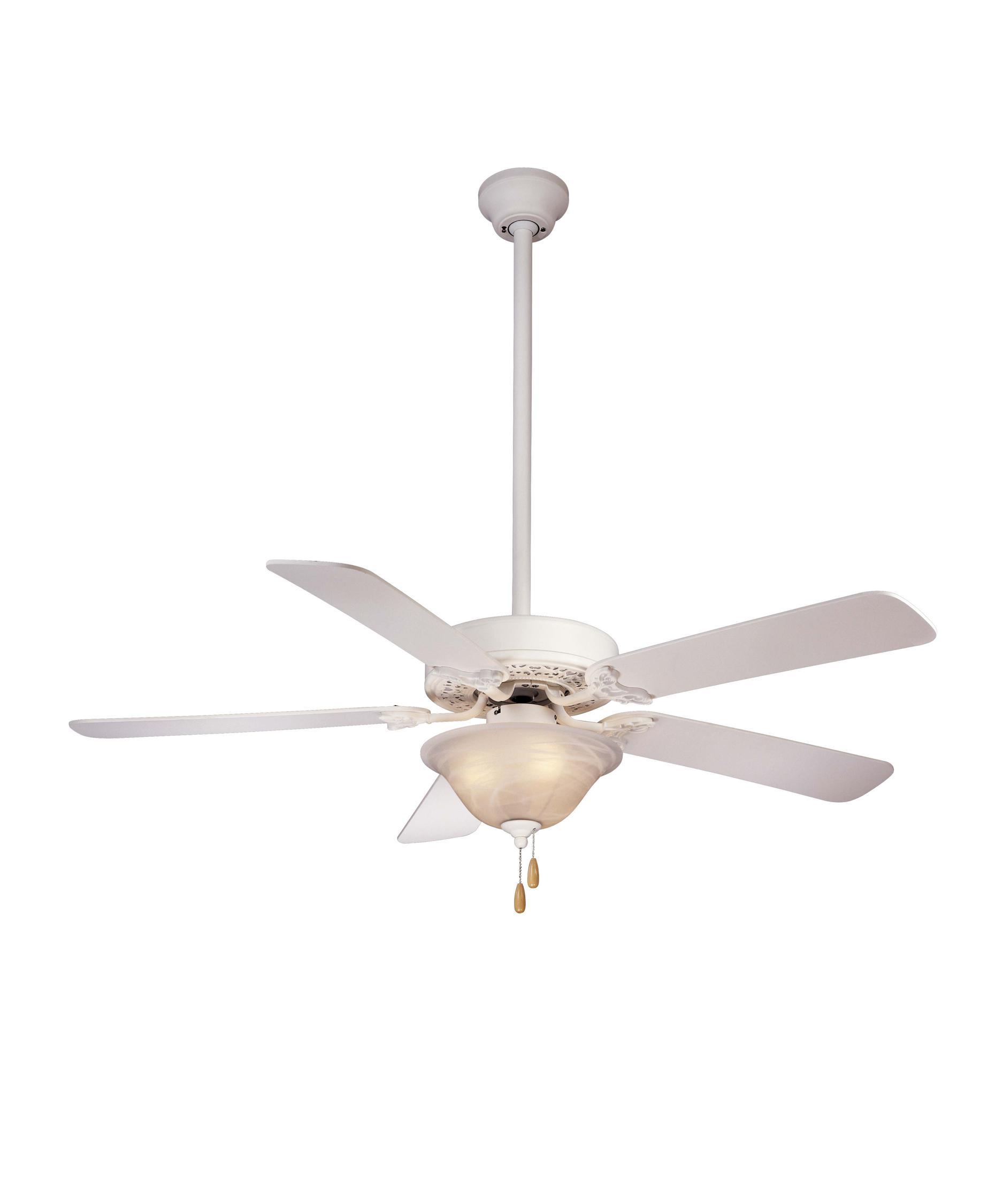 minka aire f558 lizette unipack 52 inch ceiling fan with light kit. Black Bedroom Furniture Sets. Home Design Ideas