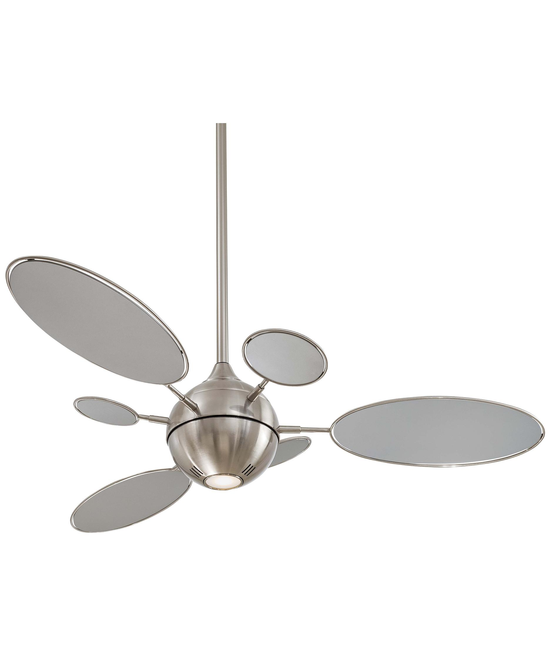 shown in brushed nickel finish - Minka Aire Fans