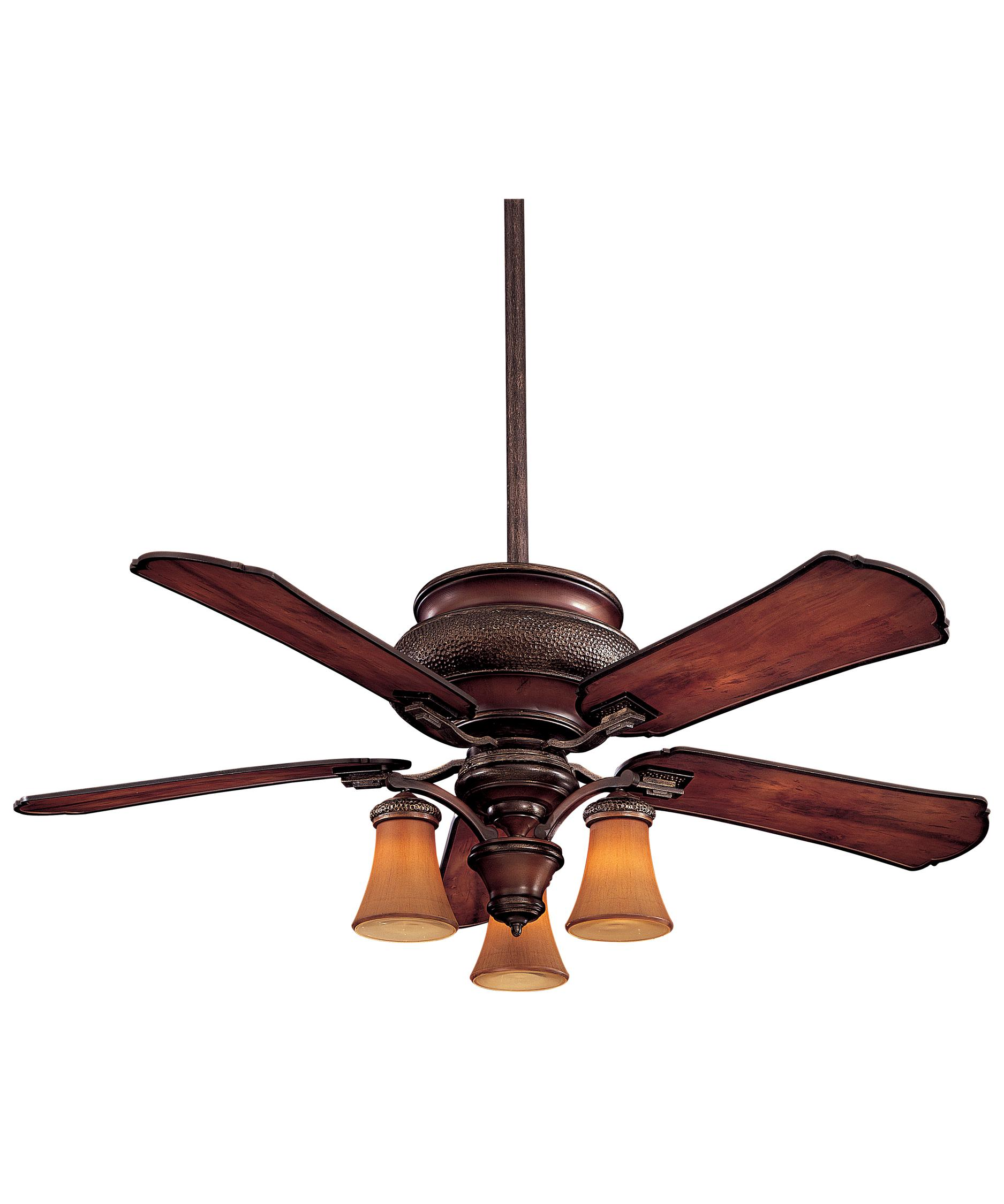 shown in craftsman finish and craftsman glass - Minka Ceiling Fans
