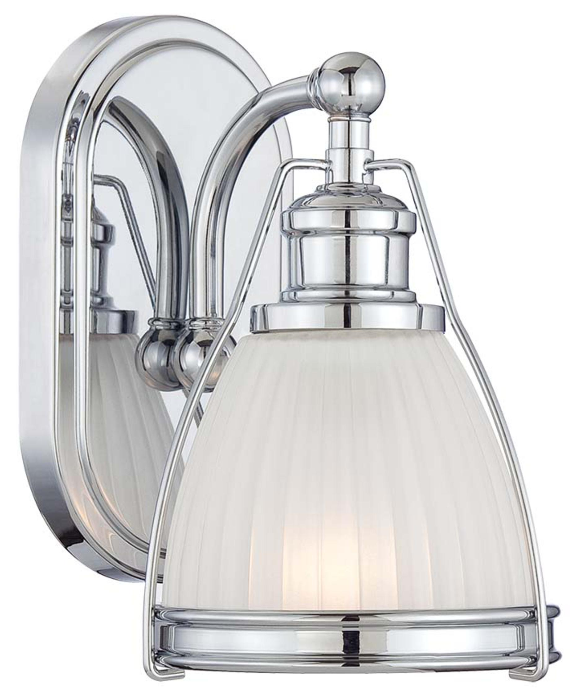Transitional Bathroom Wall Sconces minka lavery 5791 transitional 6 inch wide wall sconce | capitol