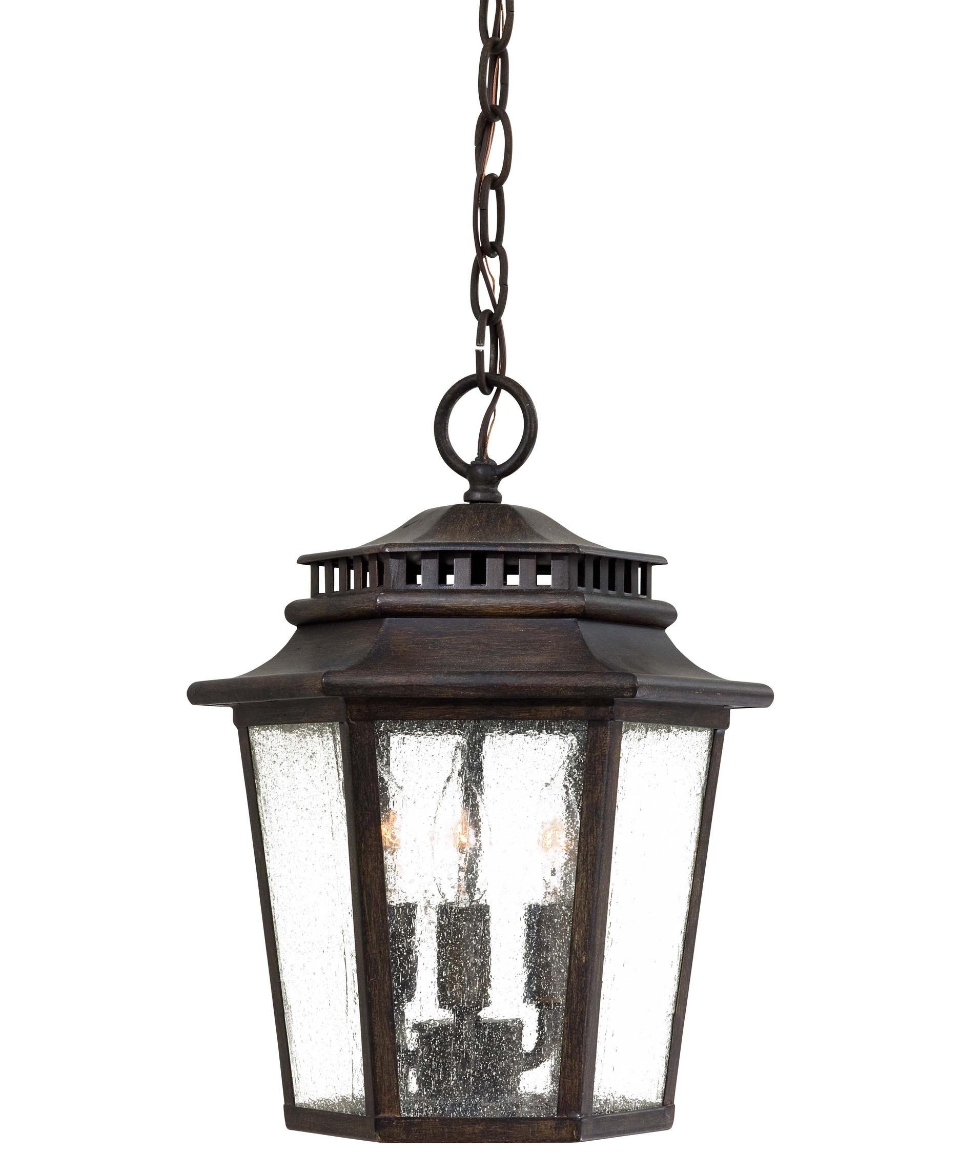 Minka Lavery 8274 Wickford Bay 11 Inch Wide 3 Light Outdoor Hanging Lantern  | Capitol Lighting 1 800lighting.com