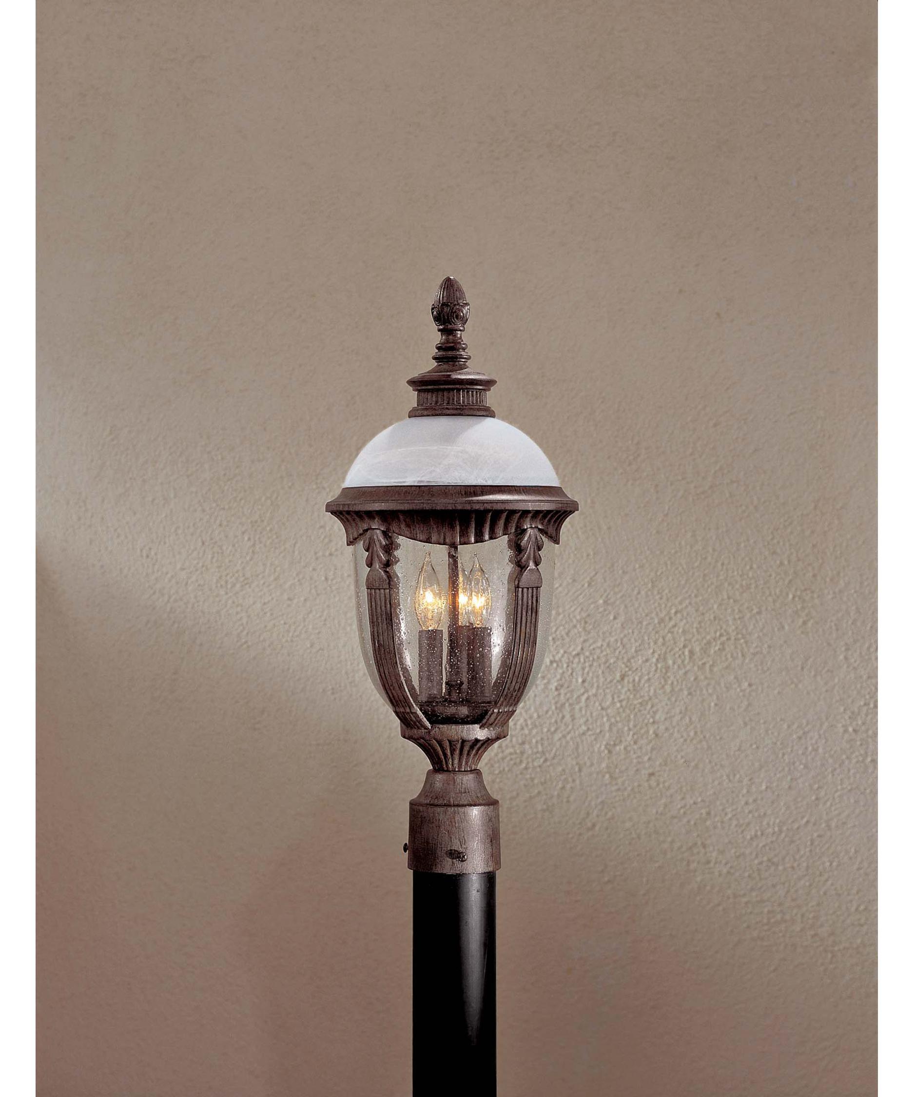 Minka Lavery 8976 Heron Bay 9 Inch Wide 3 Light Outdoor Post Lamp | Capitol  Lighting 1 800lighting.com