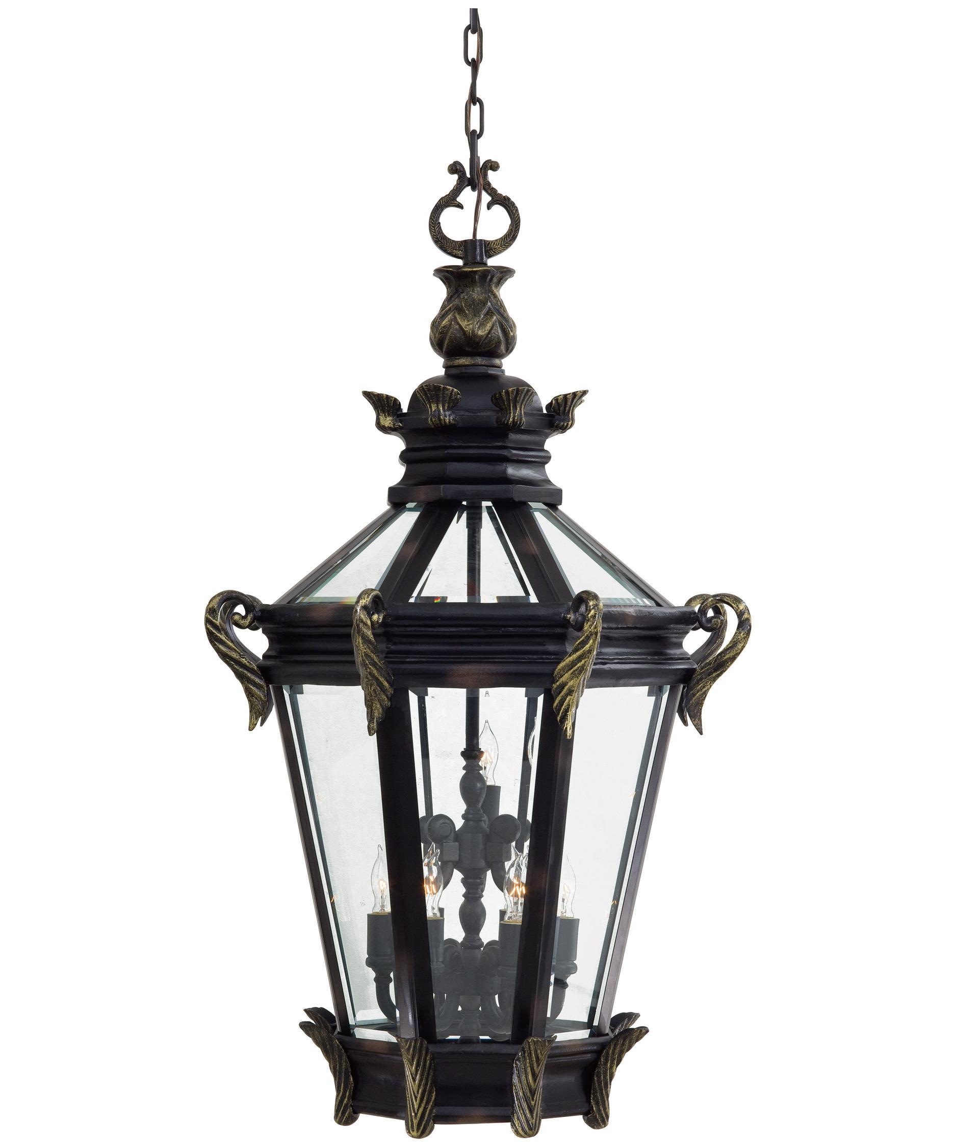 minka lavery stratford hall 28 inch wide 9 light outdoor hanging lantern capitol lighting