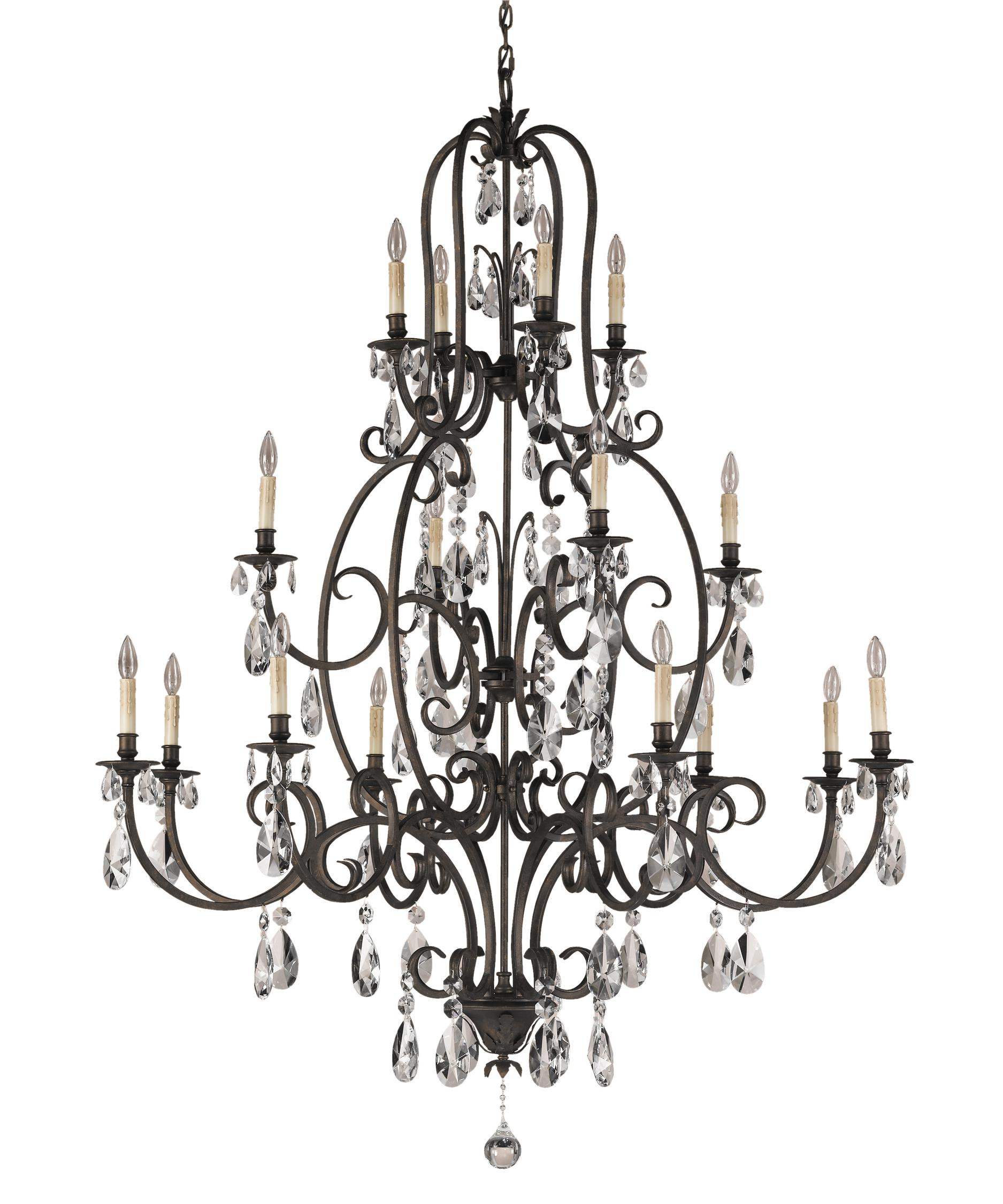 Murray Feiss Salon Maison 54 Inch Wide 16 Light Chandelier – Murray Feiss Chandeliers