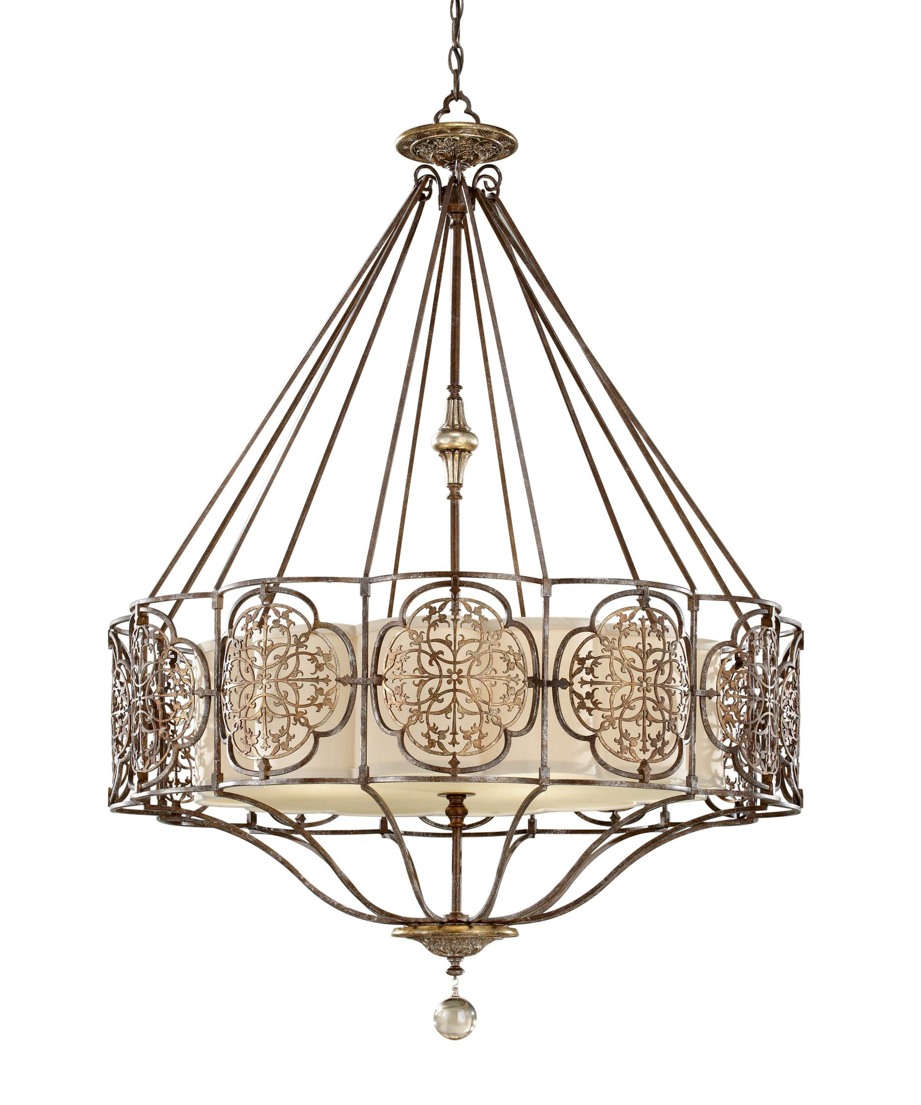 Murray Feiss Marcella 32 Inch Wide 4 Light Chandelier – Murray Feiss Chandeliers