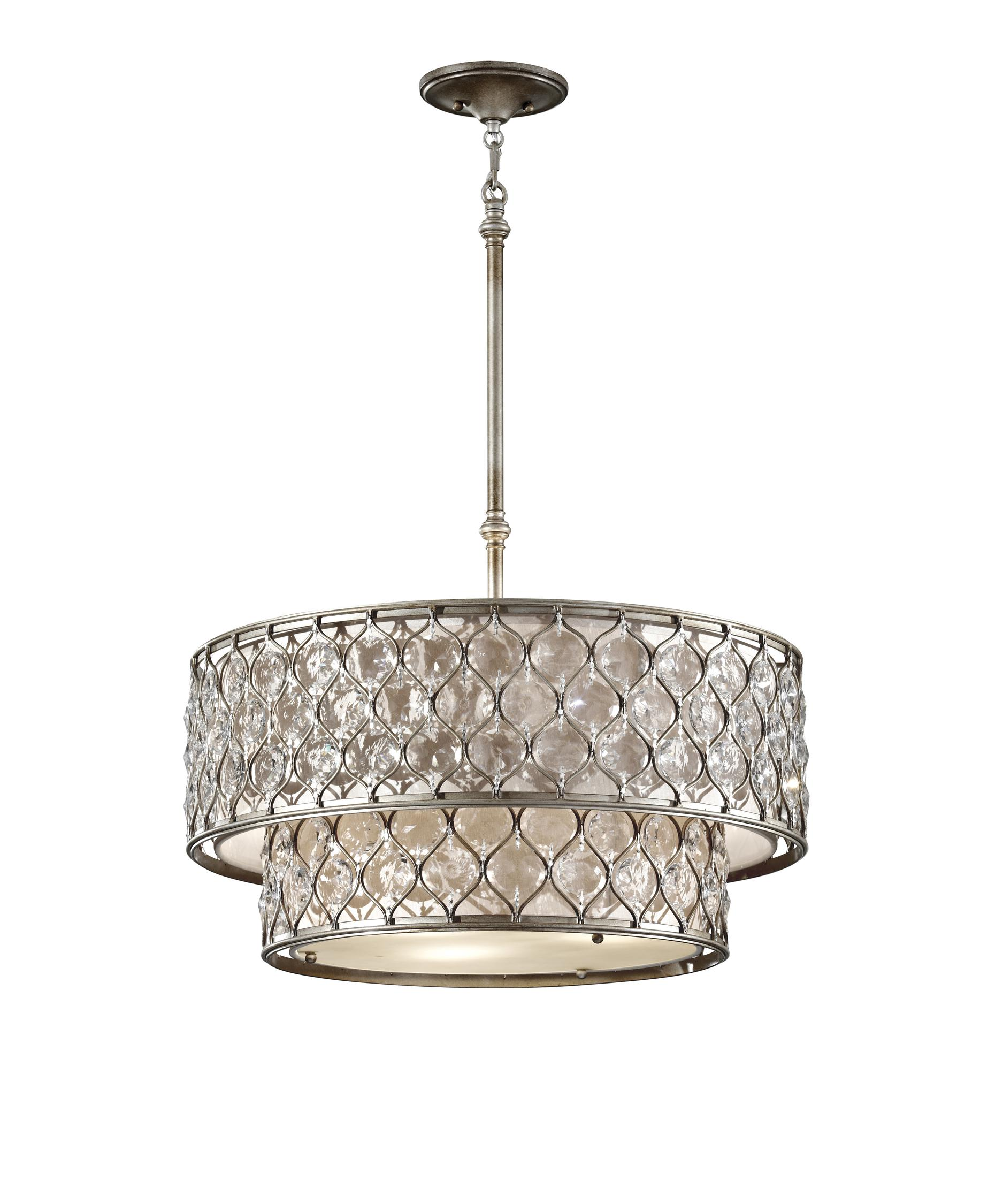 Murray Feiss F2707 6 Lucia 25 Inch Large Pendant