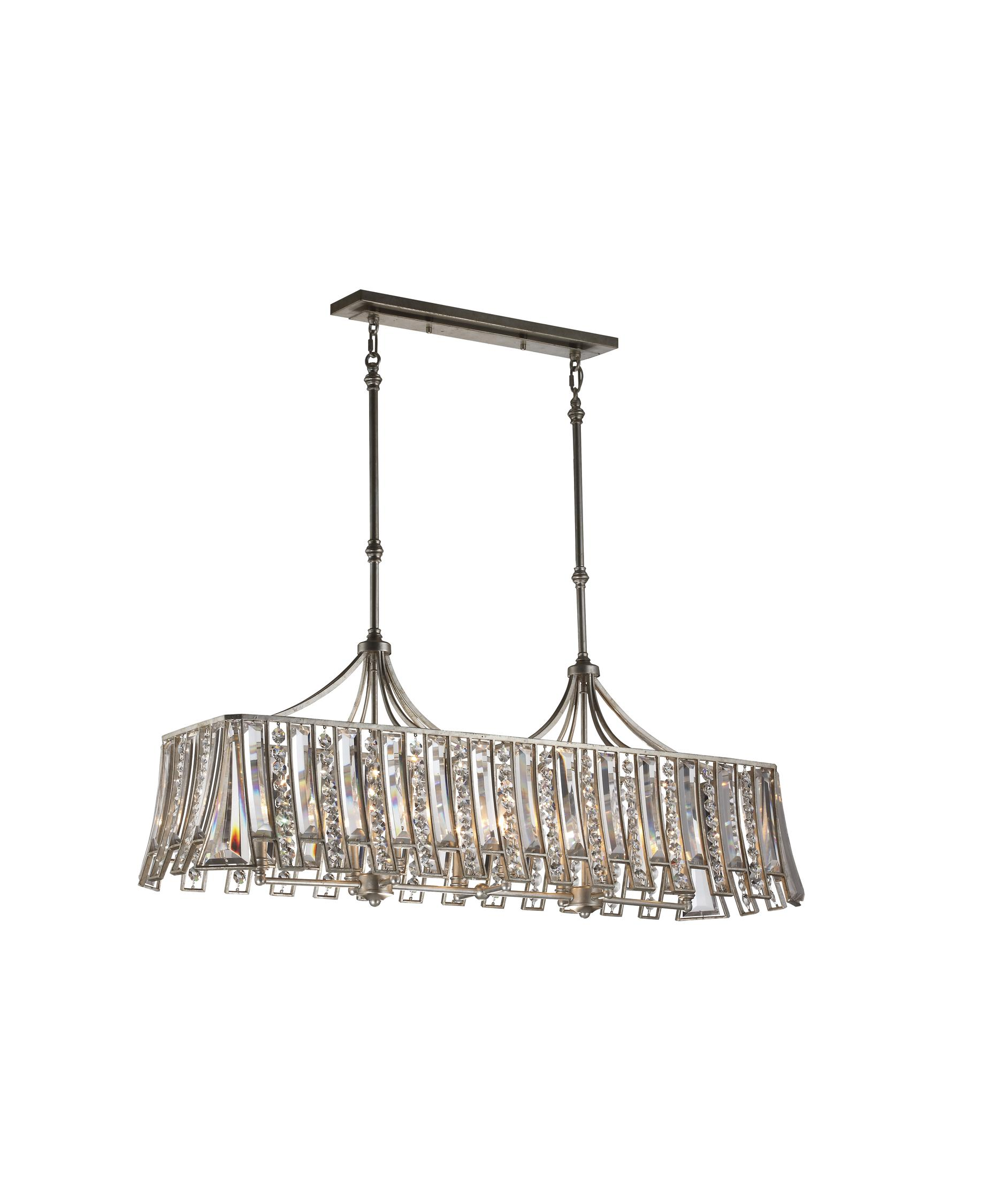 Murray Feiss Soros 48 Inch Wide Island Light – Murray Feiss Chandeliers