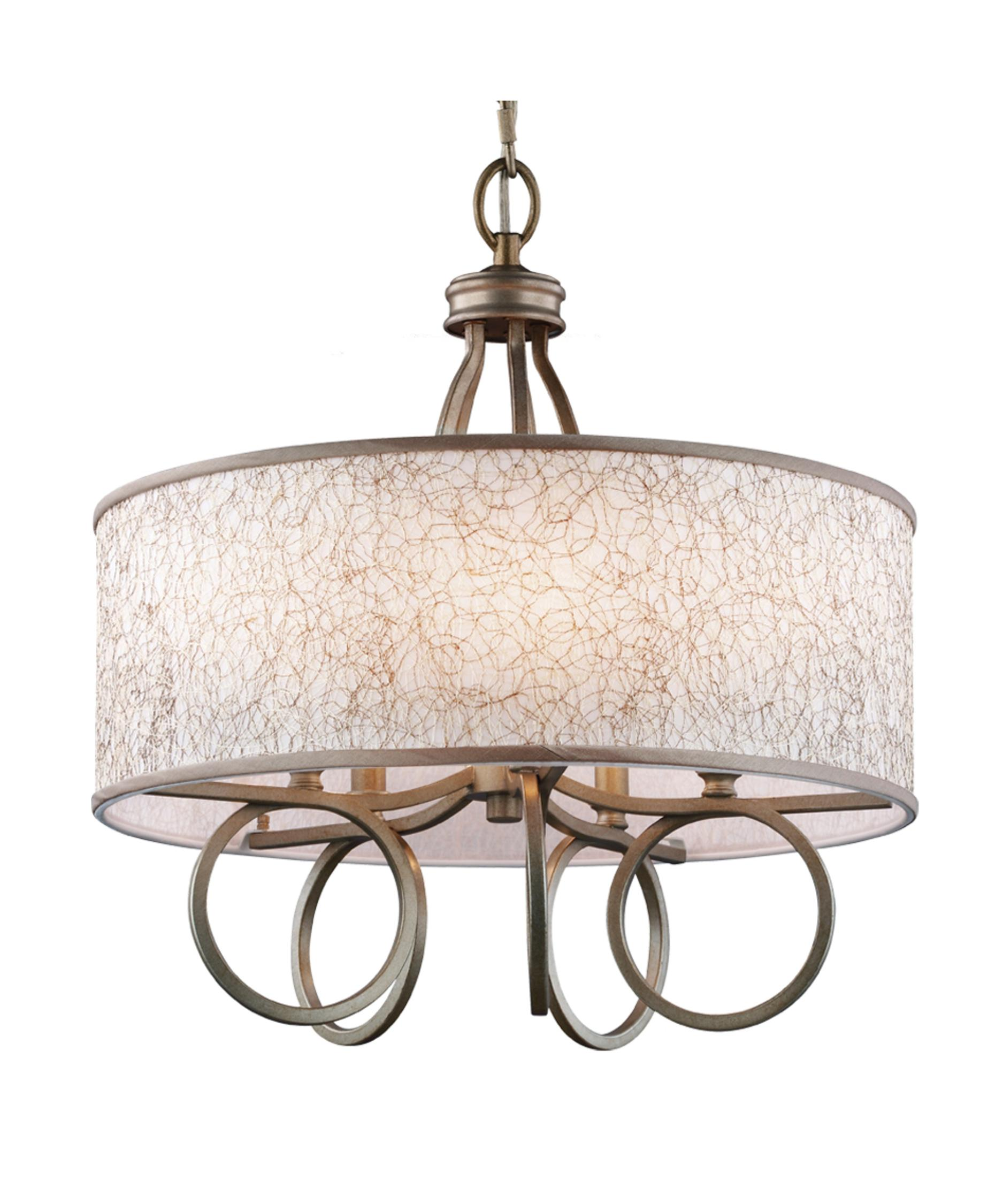 shown in burnished silver finish - Feiss Lighting