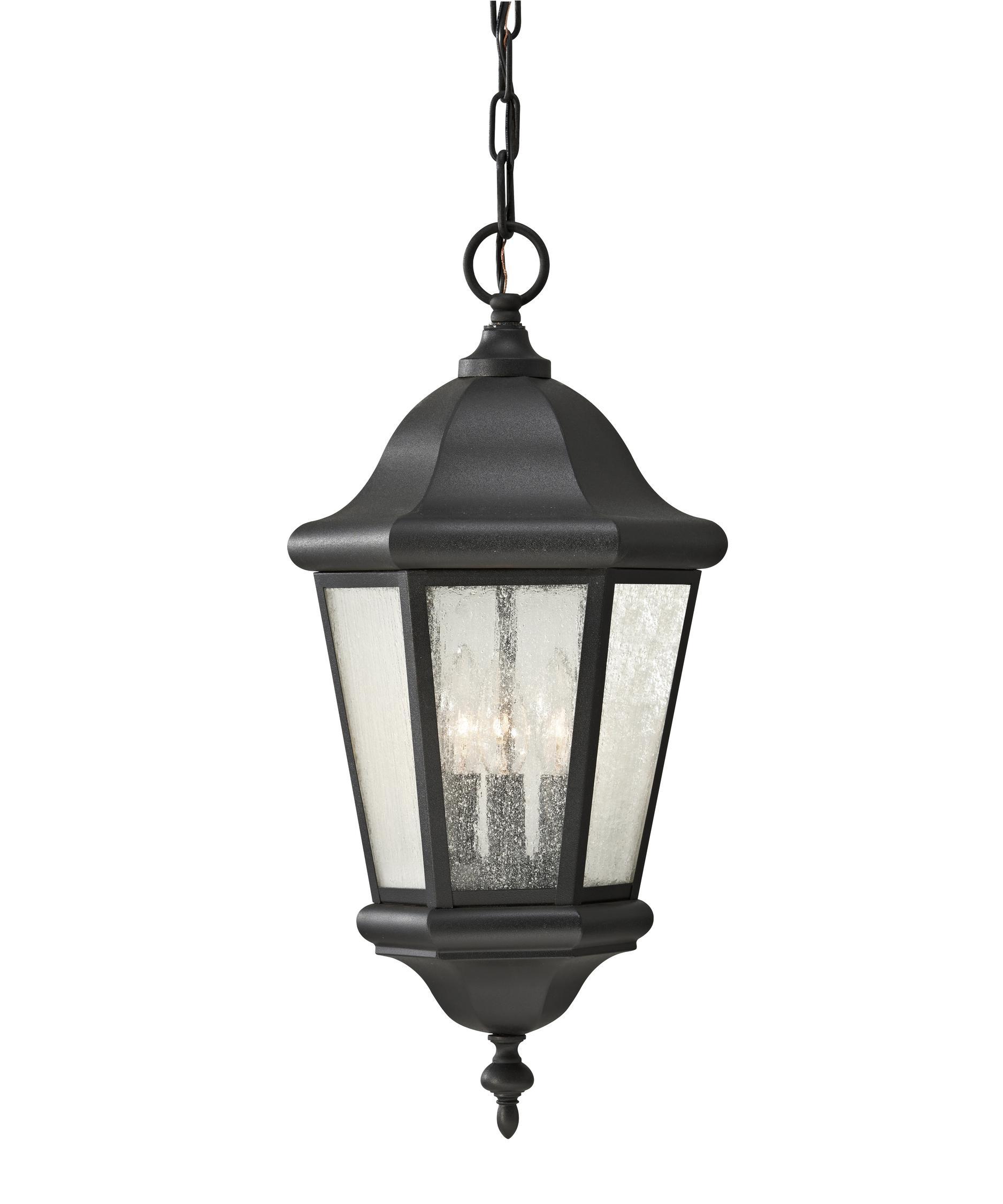 Outdoor hanging lamp - Murray Feiss Ol5911 Martinsville 10 Inch Wide 3 Light Outdoor Hanging Lantern Capitol Lighting 1 800lighting Com