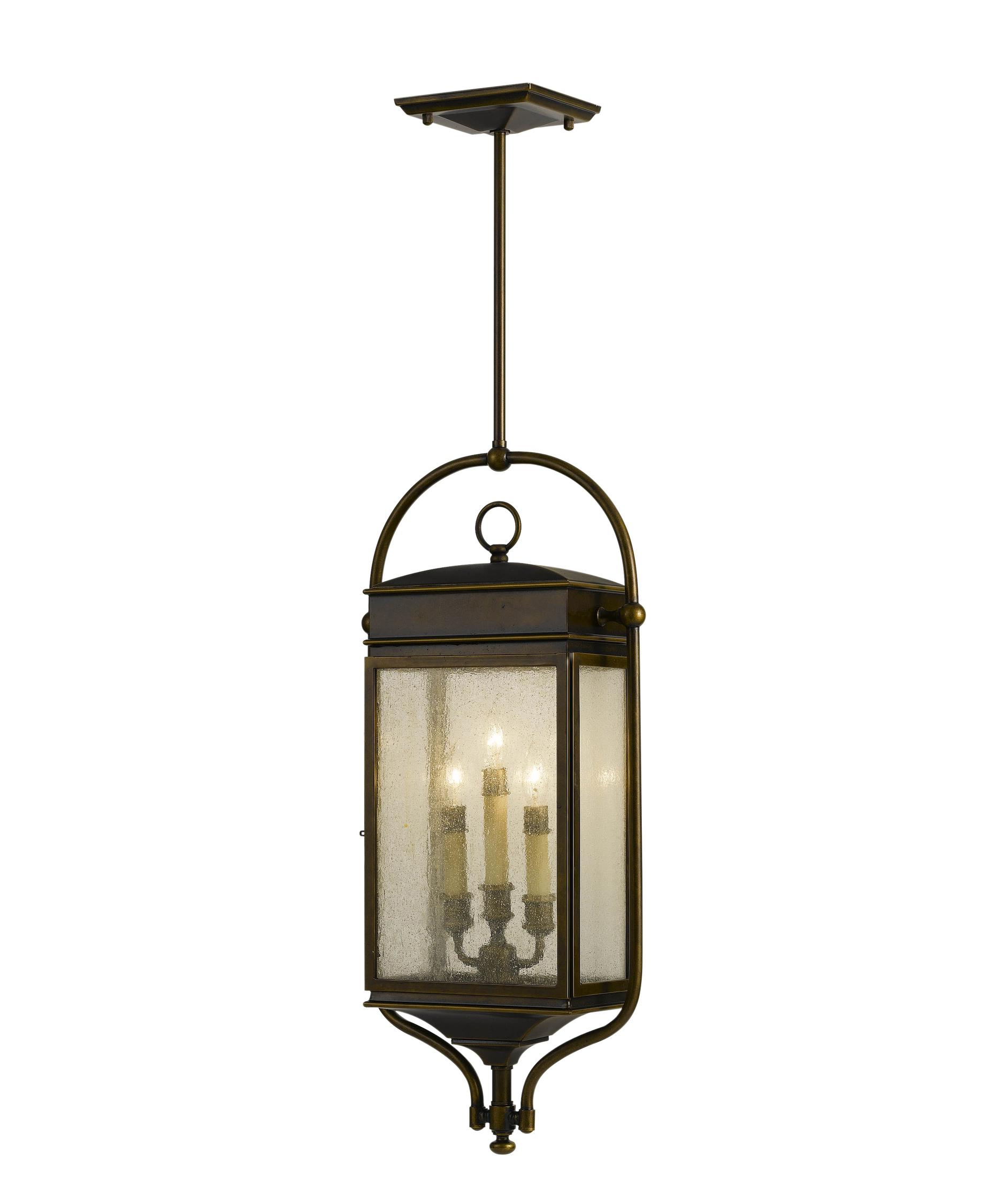 Outdoor hanging lamp - Murray Feiss Ol7411 Whitaker 13 Inch Wide 3 Light Outdoor Hanging Lantern Capitol Lighting 1 800lighting Com
