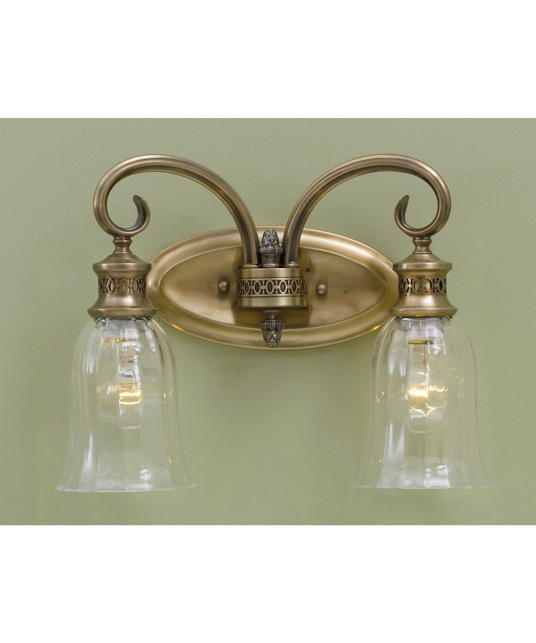 Murray Feiss Bathroom Lighting: Murray Feiss VS13902 Bernadette 14 Inch Bath Vanity Light