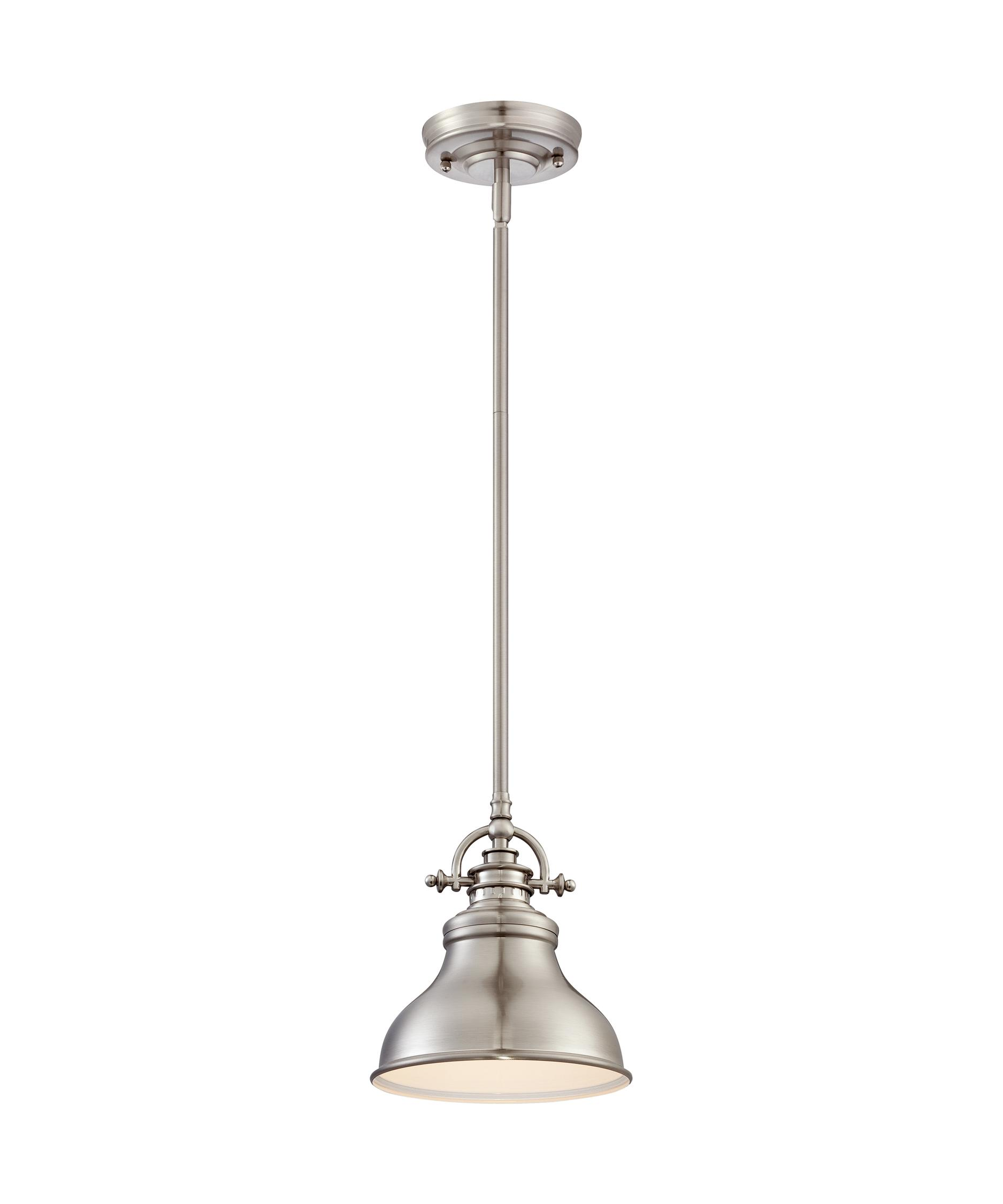quoizel er1508 emery 8 inch wide 1 light mini pendant capitol