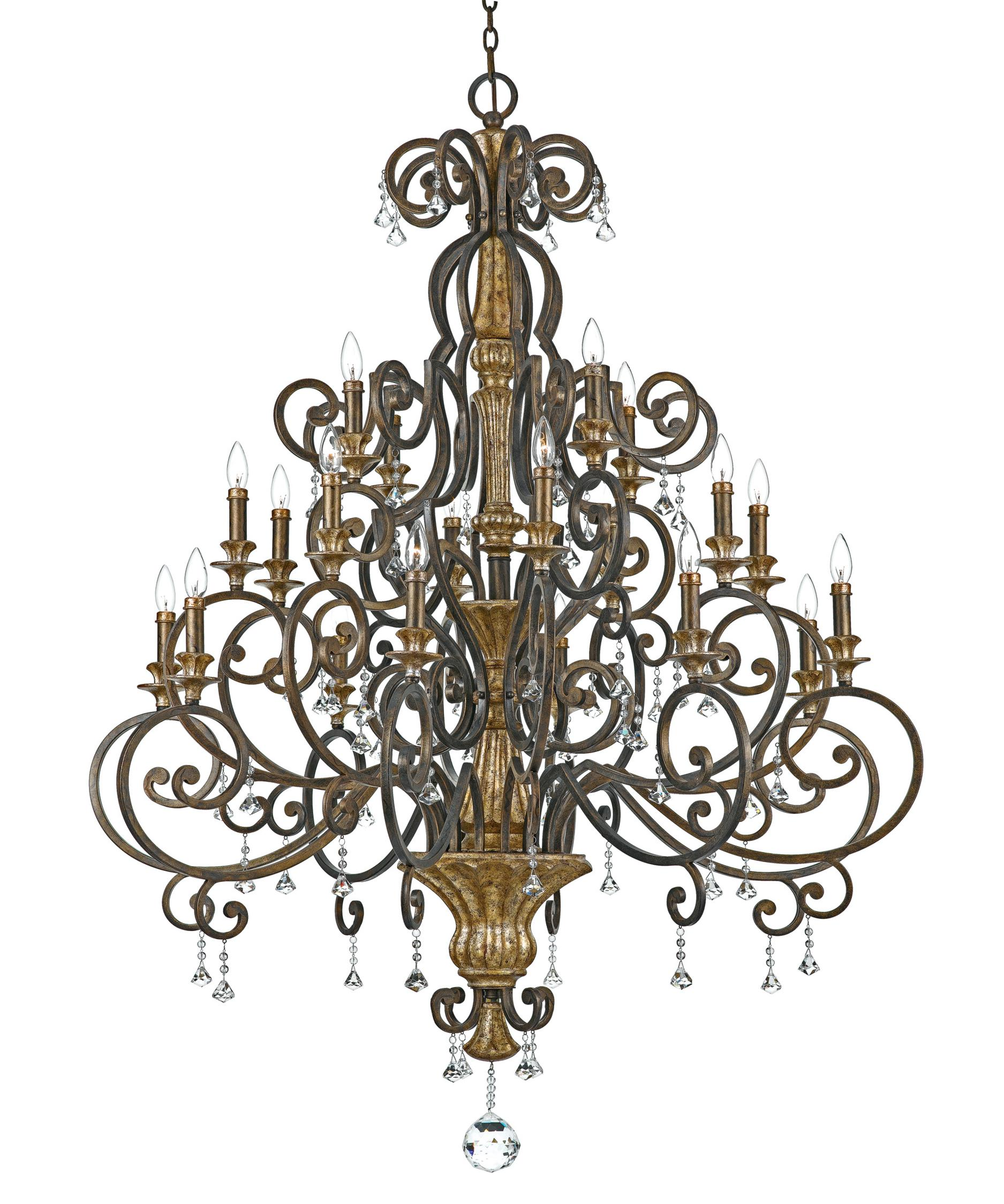 Quoizel Marquette 50 Inch Wide 20 Light Chandelier – Quoizel Chandelier
