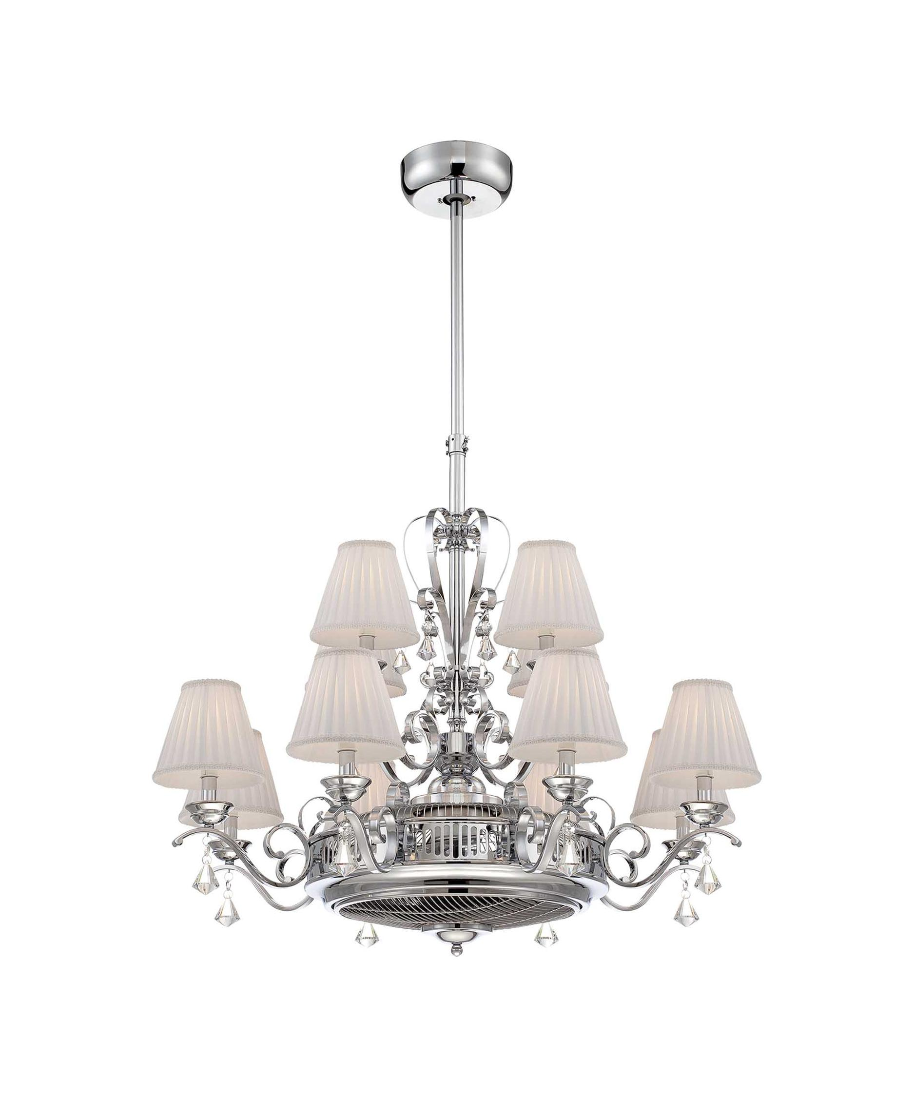 Ceiling Fan And Chandelier – Chandeliers Design:Chandelier Ceiling Fans At 1800lighting,Lighting