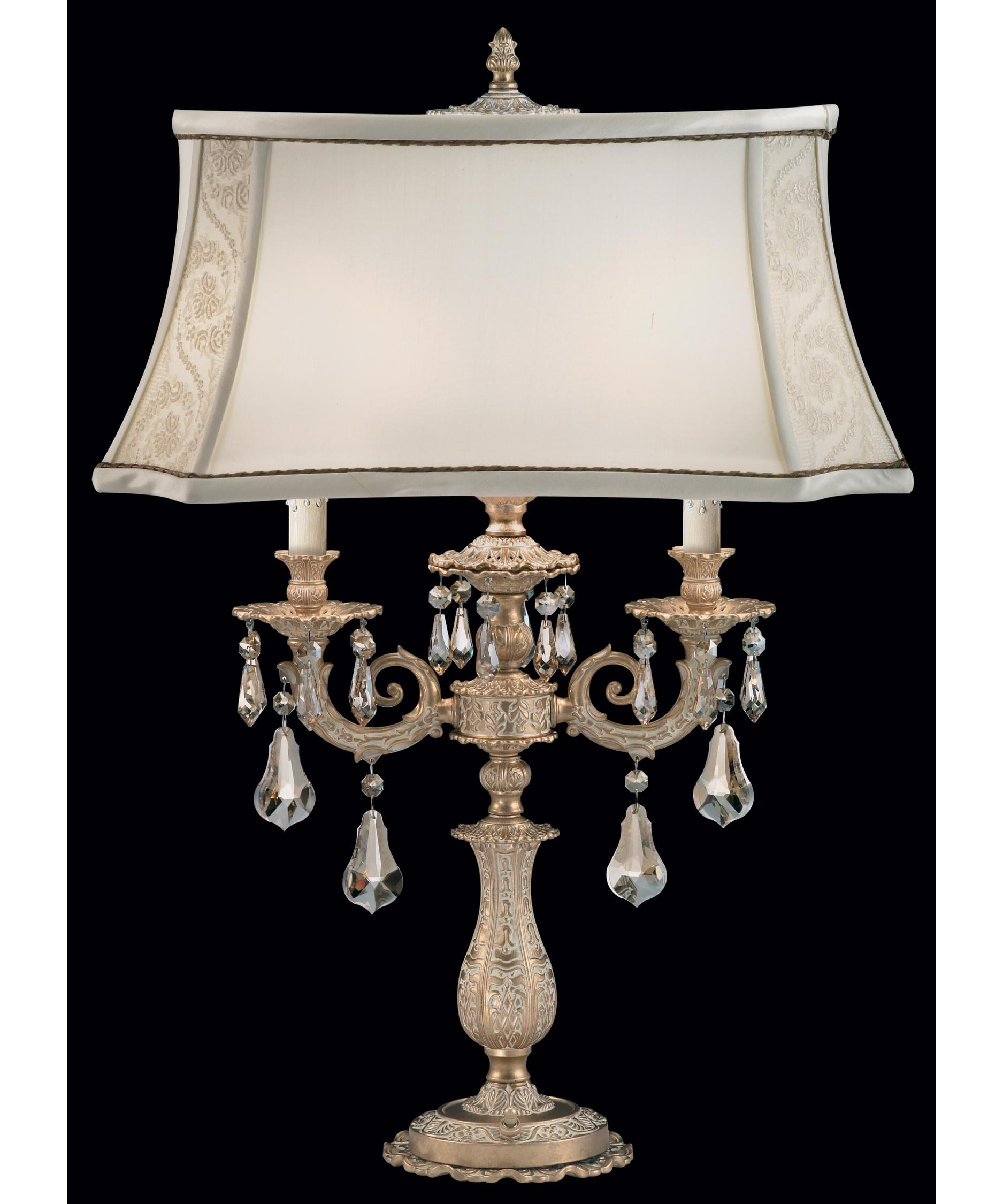 shown in parchment gold finish and golden shadow swarovski elements crystal - Schonbek Lighting