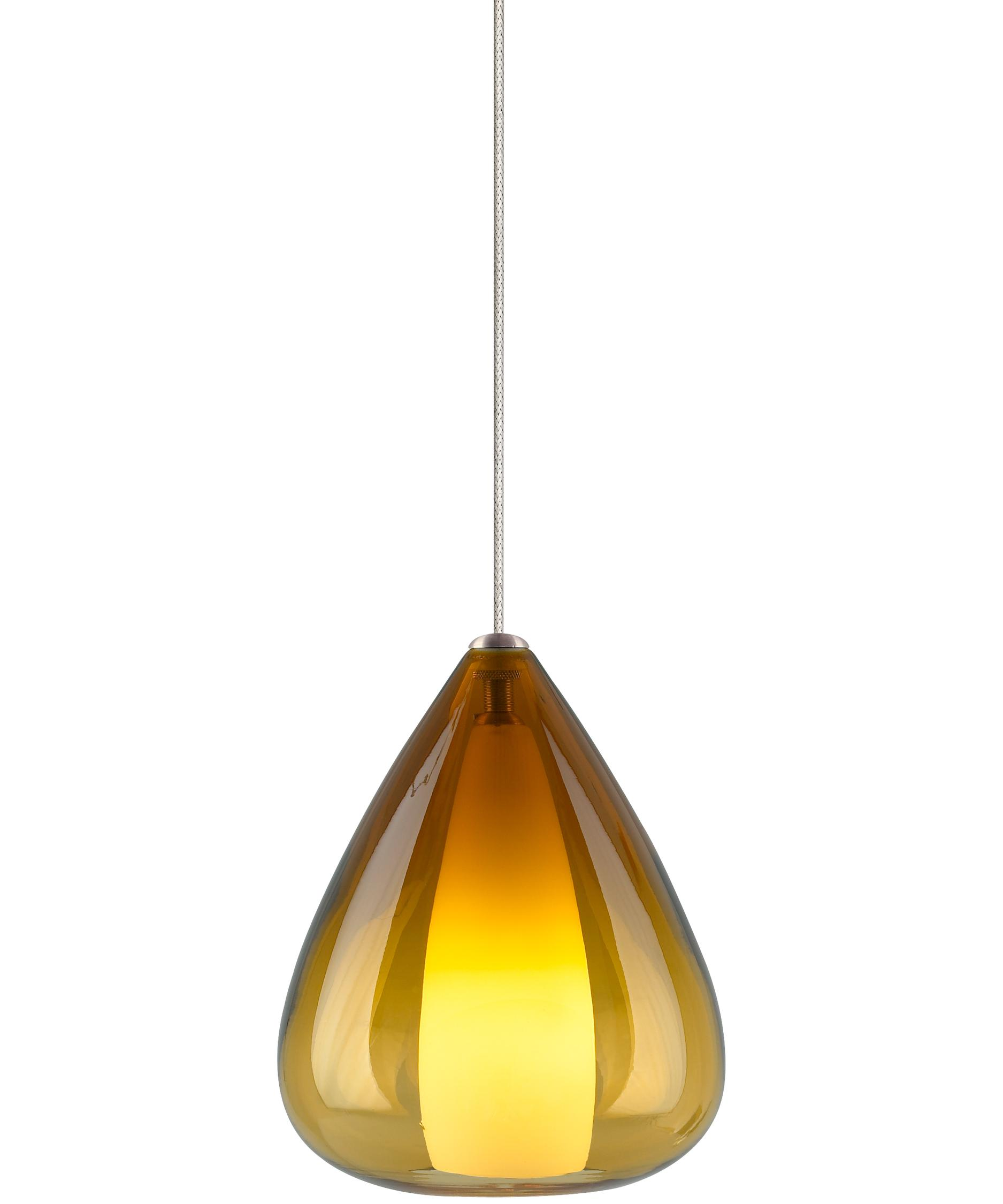 Charming Shown In Chrome Finish And Amber Glass