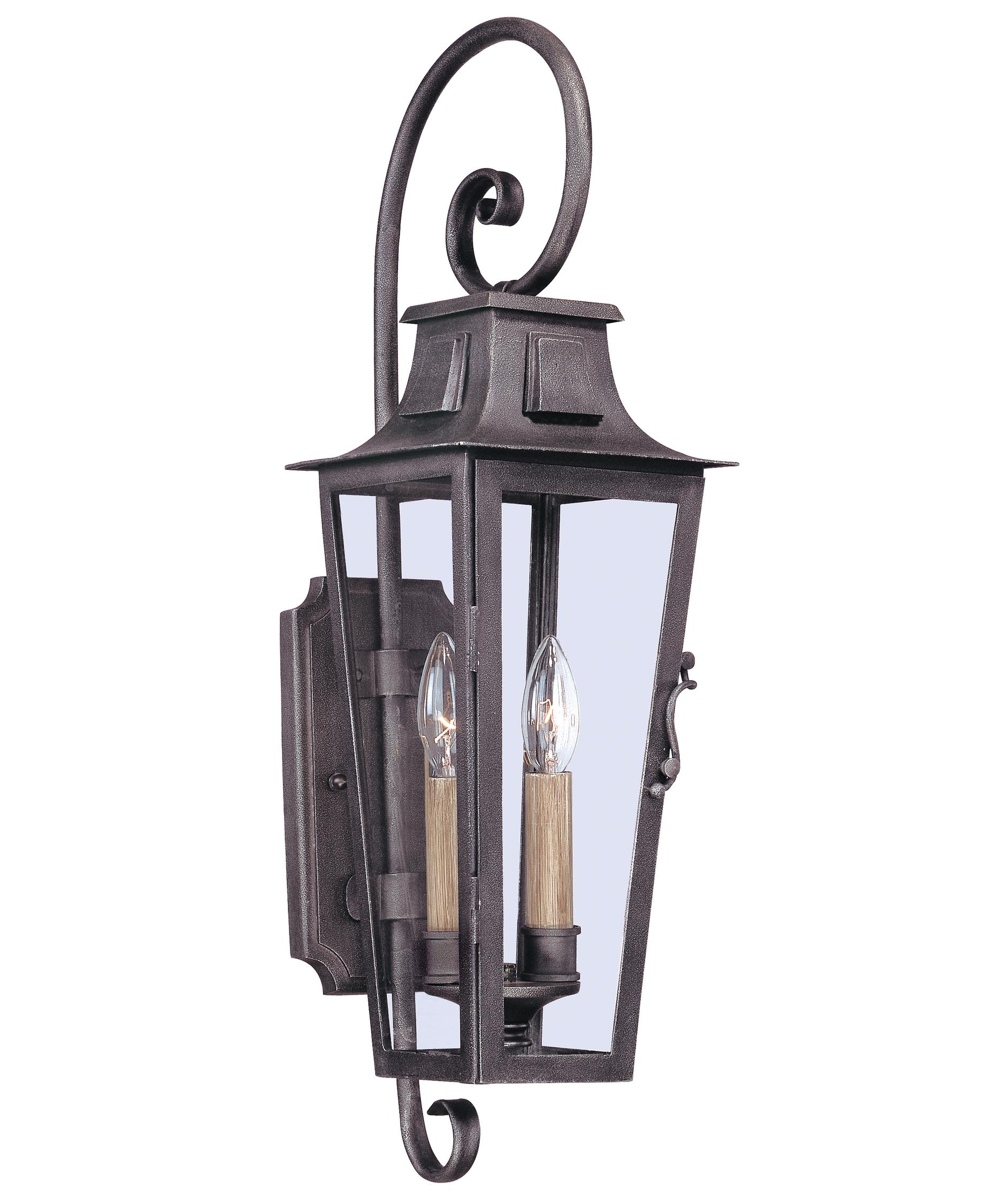 french country outdoor lighting. pewter outdoor lighting part - 19: shown in aged finish and clear seedy glass french country