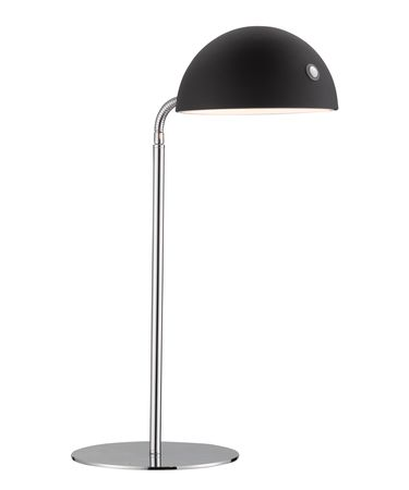 Shown in Chrome finish and Black shade