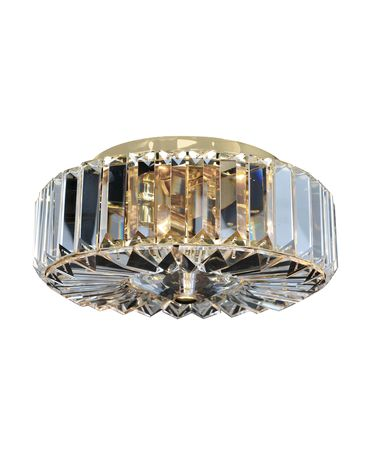 Shown in 18K Gold finish and Firenze Clear crystal